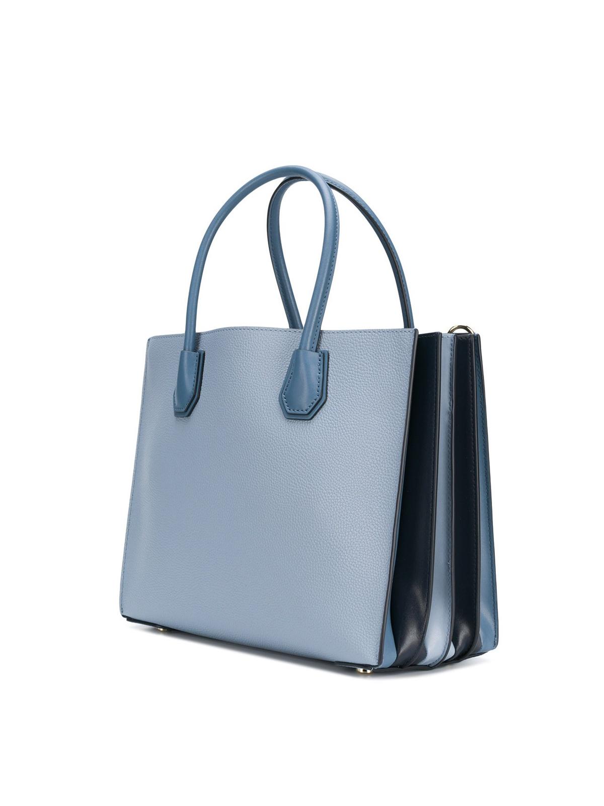 iKRIX MICHAEL KORS  totes bags - Mercer large light blue accordion tote 0410862c11dab