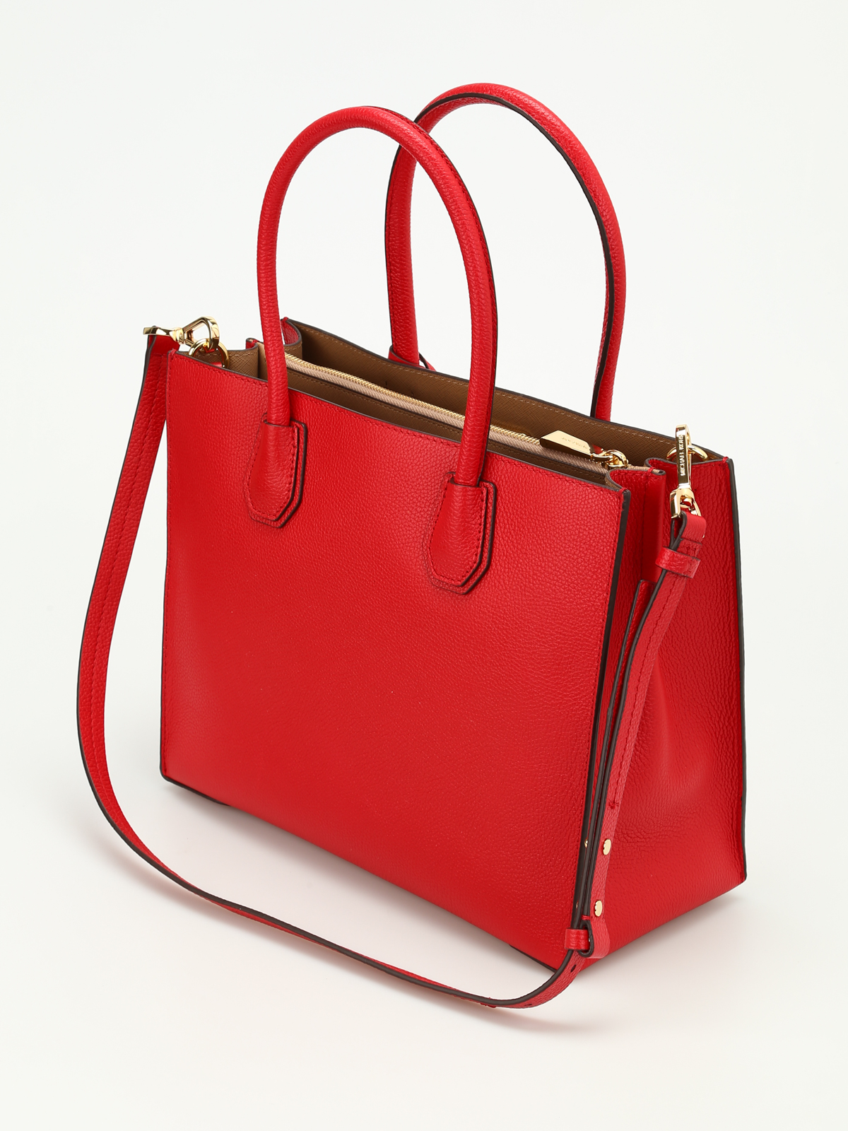 300d39fcd29aab Michael Kors - Mercer leather large tote - totes bags - 30F6GM9T3L 204