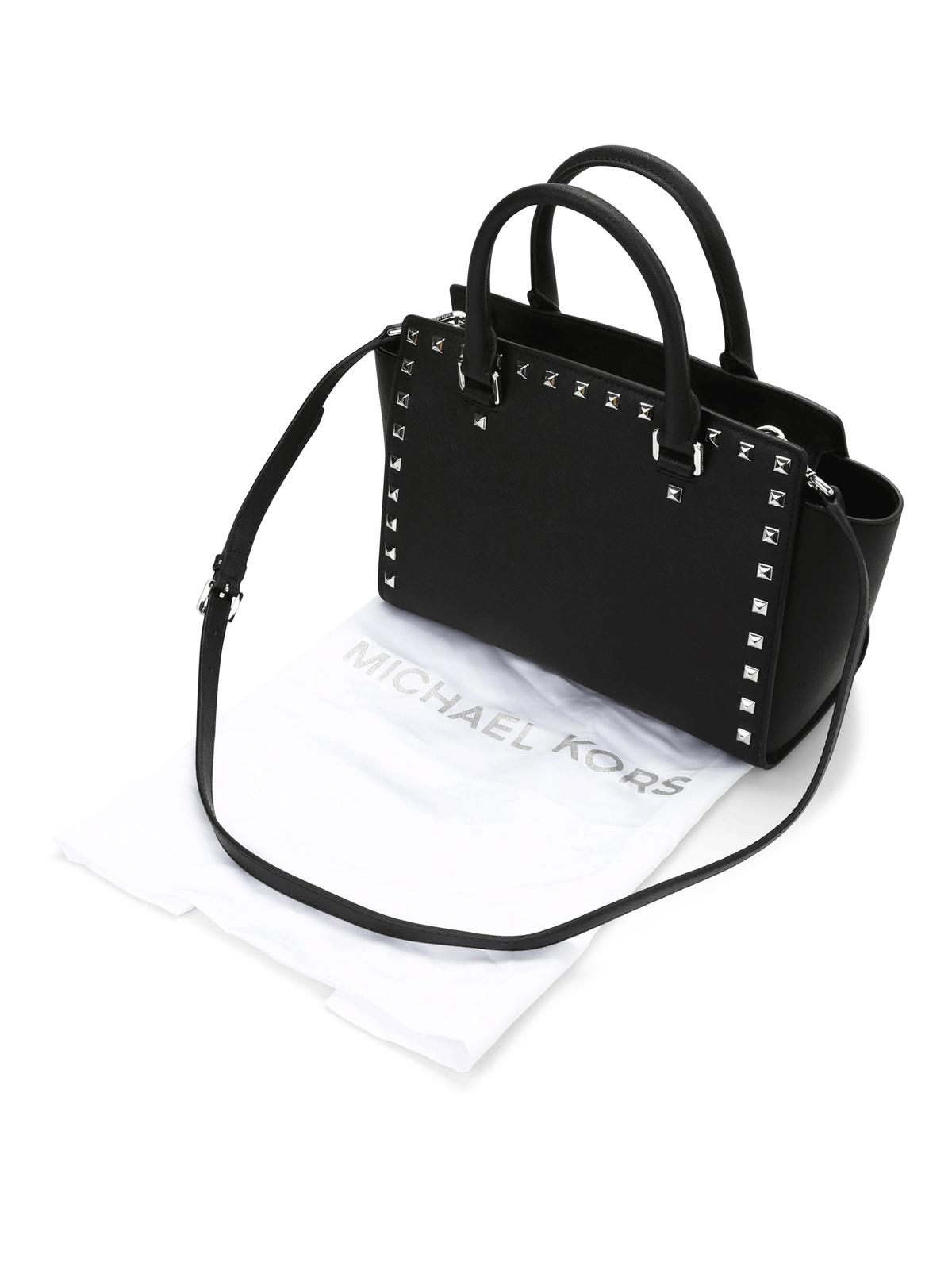a1bda821e9 Michael Kors - Selma medium studded tote - totes bags - 30T3SSMS2L 001