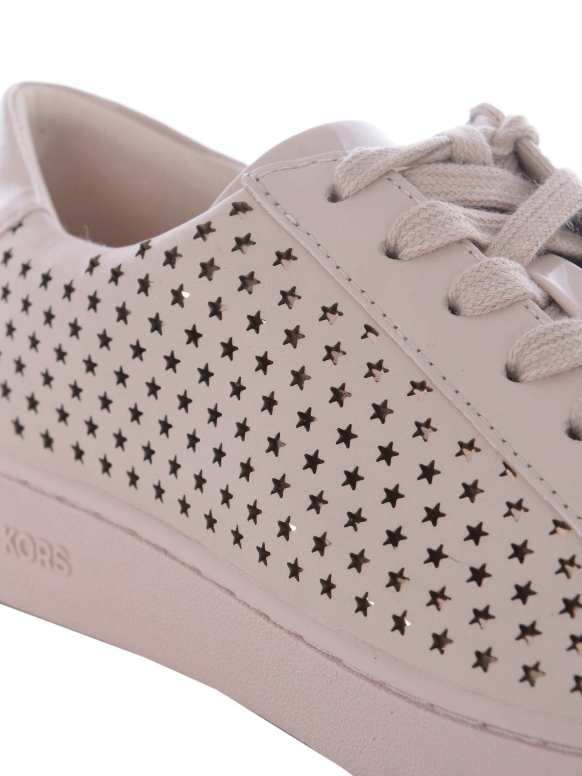 3e86ec3c7865 iKRIX MICHAEL KORS  trainers - Irving cut-out stars pink sneakers