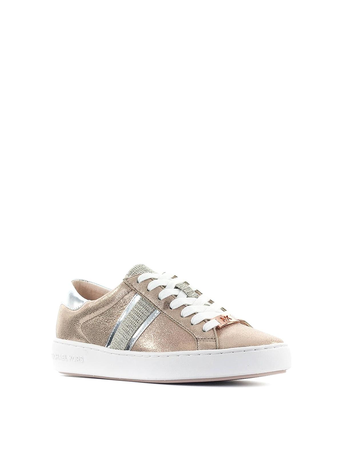 michael kors keaton stripe sneaker