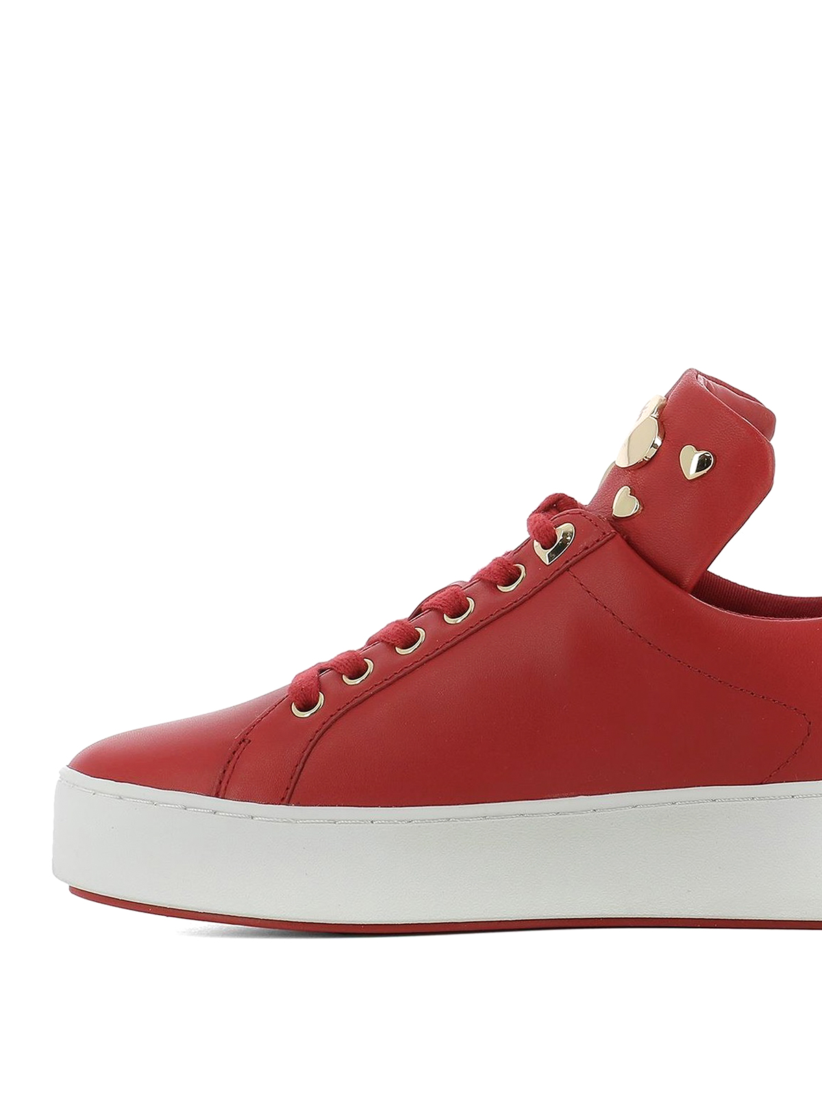 Michael Kors Baskets Rouge Chaussures de sport