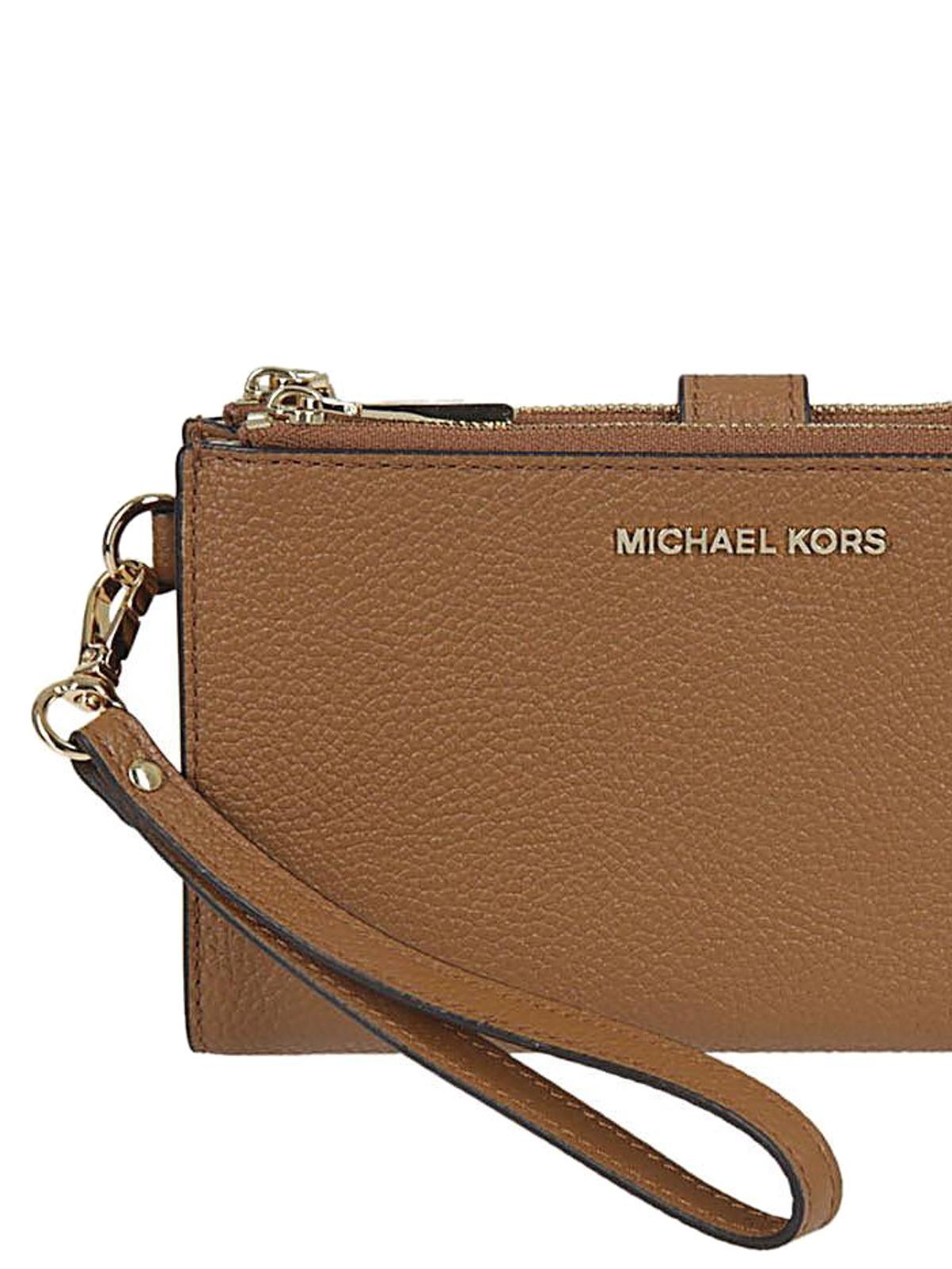 f009439e7f46 iKRIX MICHAEL KORS  wallets   purses - Adele acorn double zip wallet