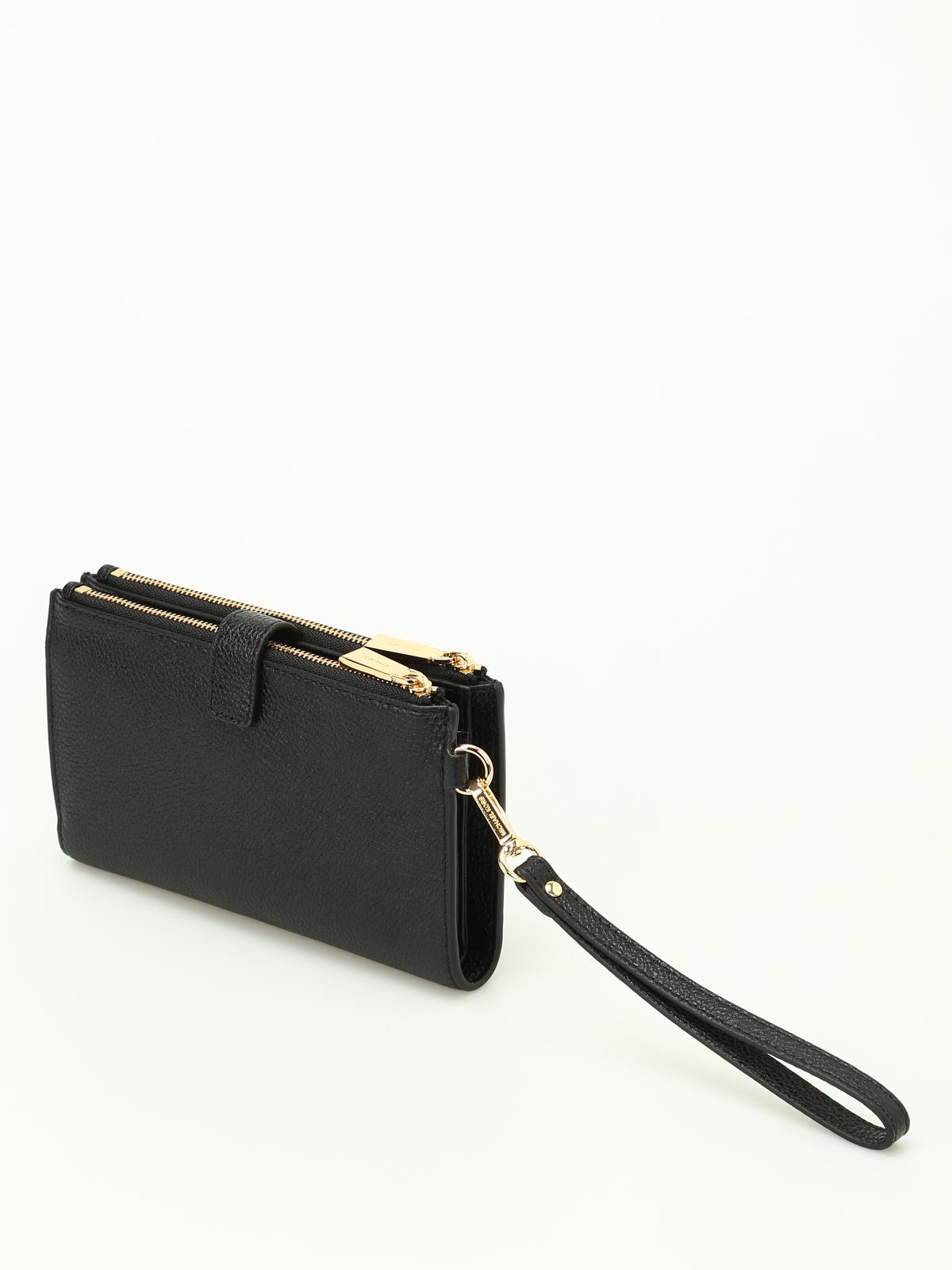 b500aa4a3b85 iKRIX MICHAEL KORS: wallets & purses - Adele black double zip wallet