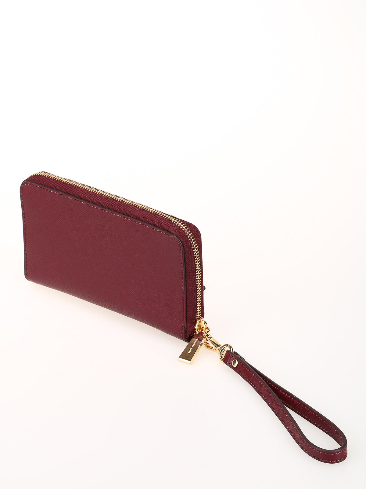 4714c6756fd iKRIX MICHAEL KORS: wallets & purses - Oxblood large smartphone wristlet