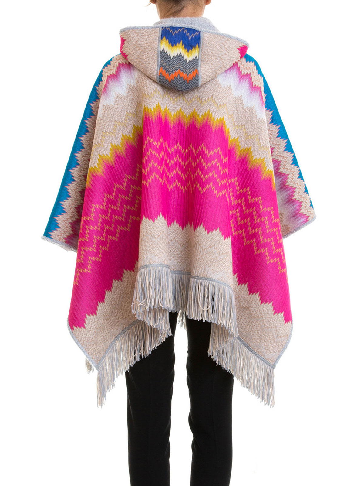 2ff04331363860 Missoni - Cape & Poncho Fur Damen - Bunt - Capes & Ponchos - 1961902034