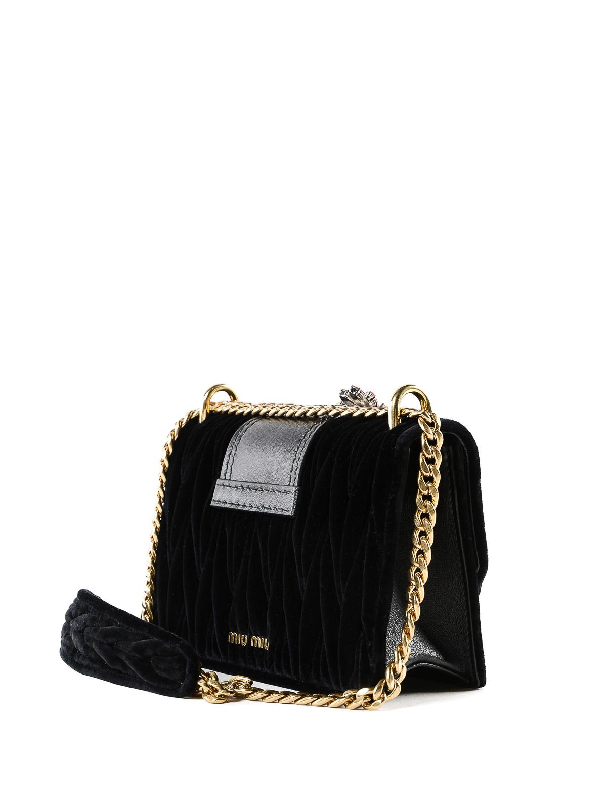 845c9ba9105e iKRIX MIU MIU  cross body bags - Lady velvet jewel cross body bag