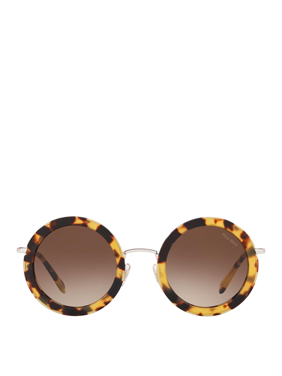 ziemlich billig neue sorten weit verbreitet Miu Miu - Sonnenbrille - Braun - Sonnenbrillen - MU59US ...