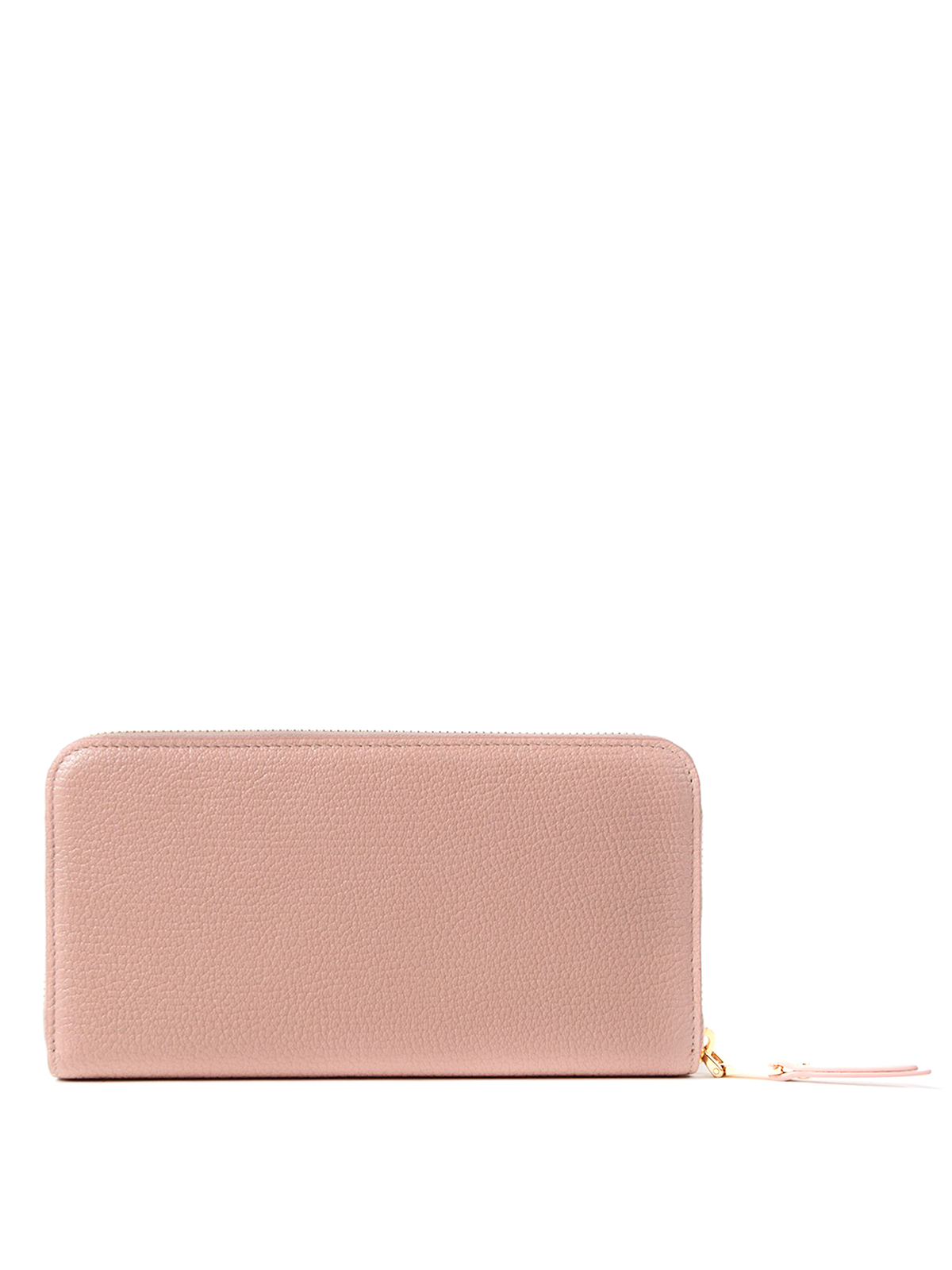 iKRIX MIU MIU  wallets   purses - Leather zip around wallet with bow b657cb1e675be