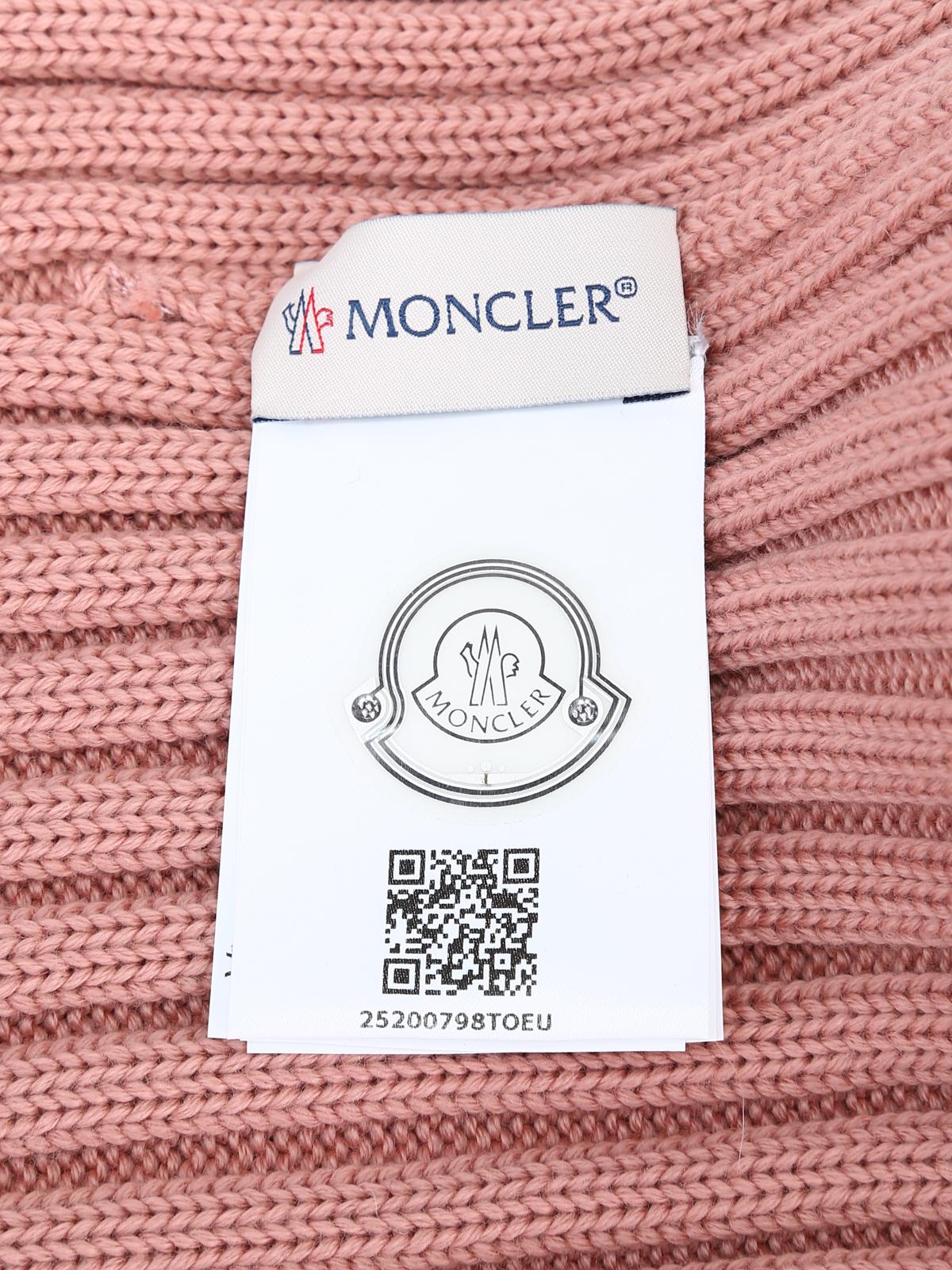 detailed pictures 98488 a17f7 Moncler - Mütze - Pink - Mützen - D2 093 0021900 03510 516 ...