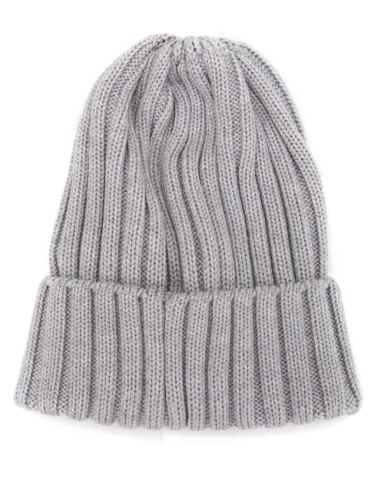 31000262de4 Moncler - Knit virgin wool beanie - beanies - B2 093 0022000 03510 987