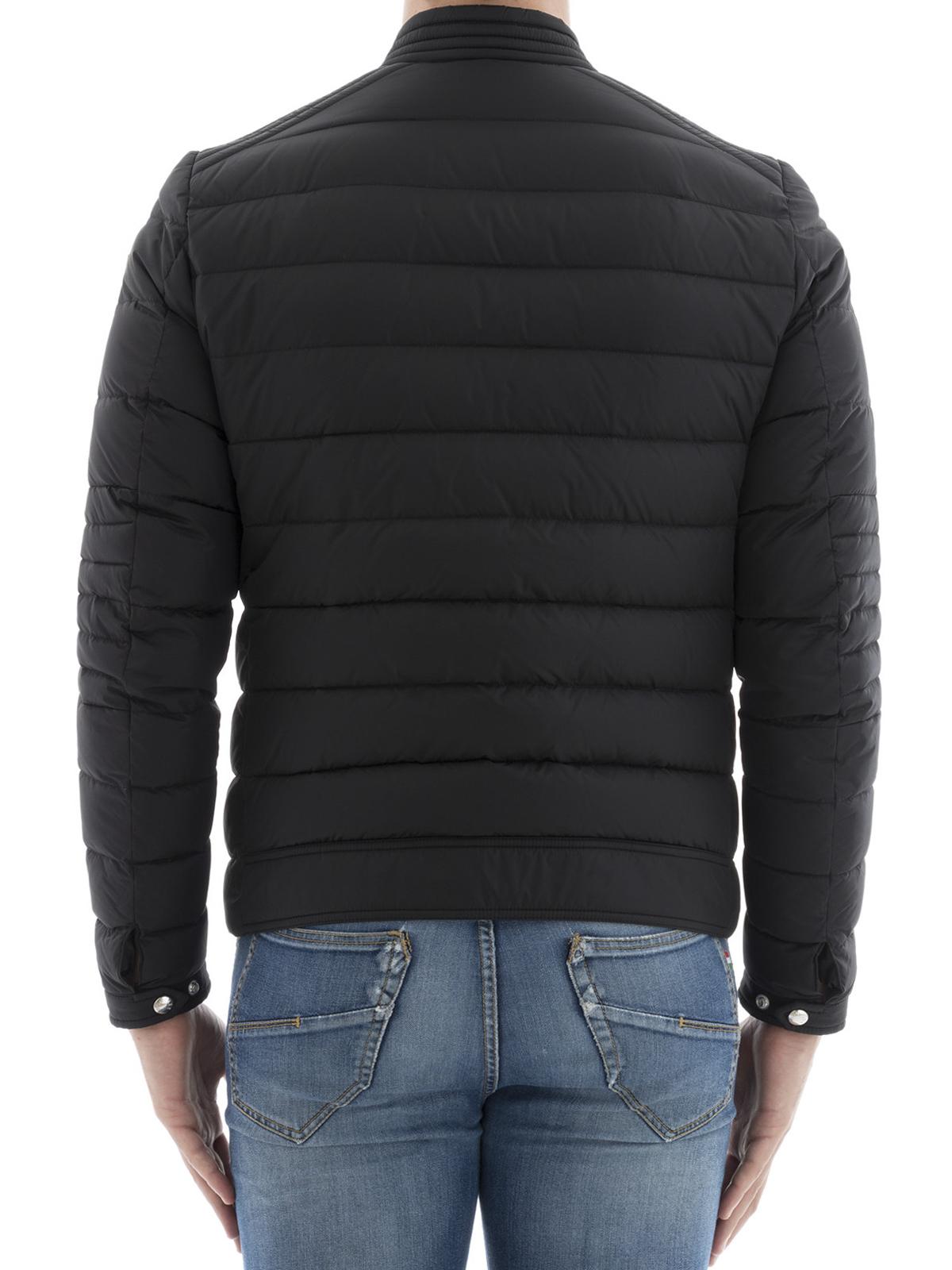 e203e4fe0 Moncler - Amiot quilted nylon biker jacket - biker jackets - 1 ...