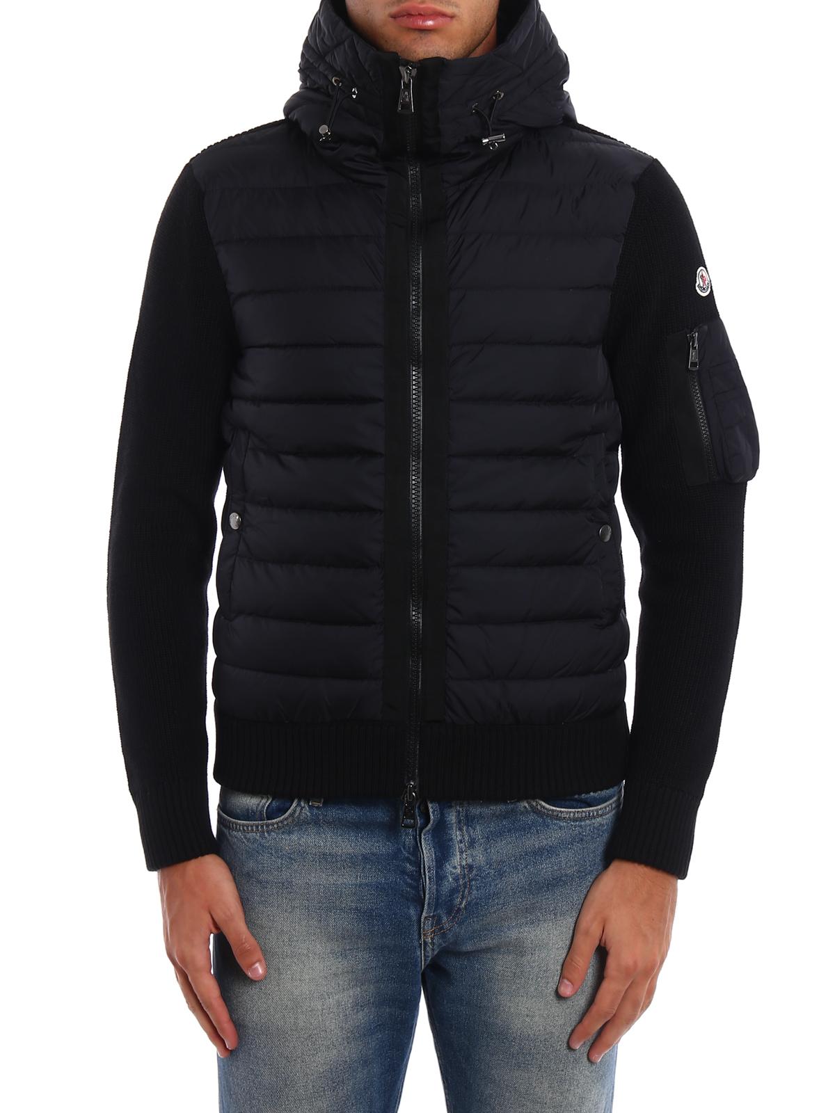 b37ebaf18 Moncler - Front padded tricot cardigan - cardigans - C2 091 9402800 ...