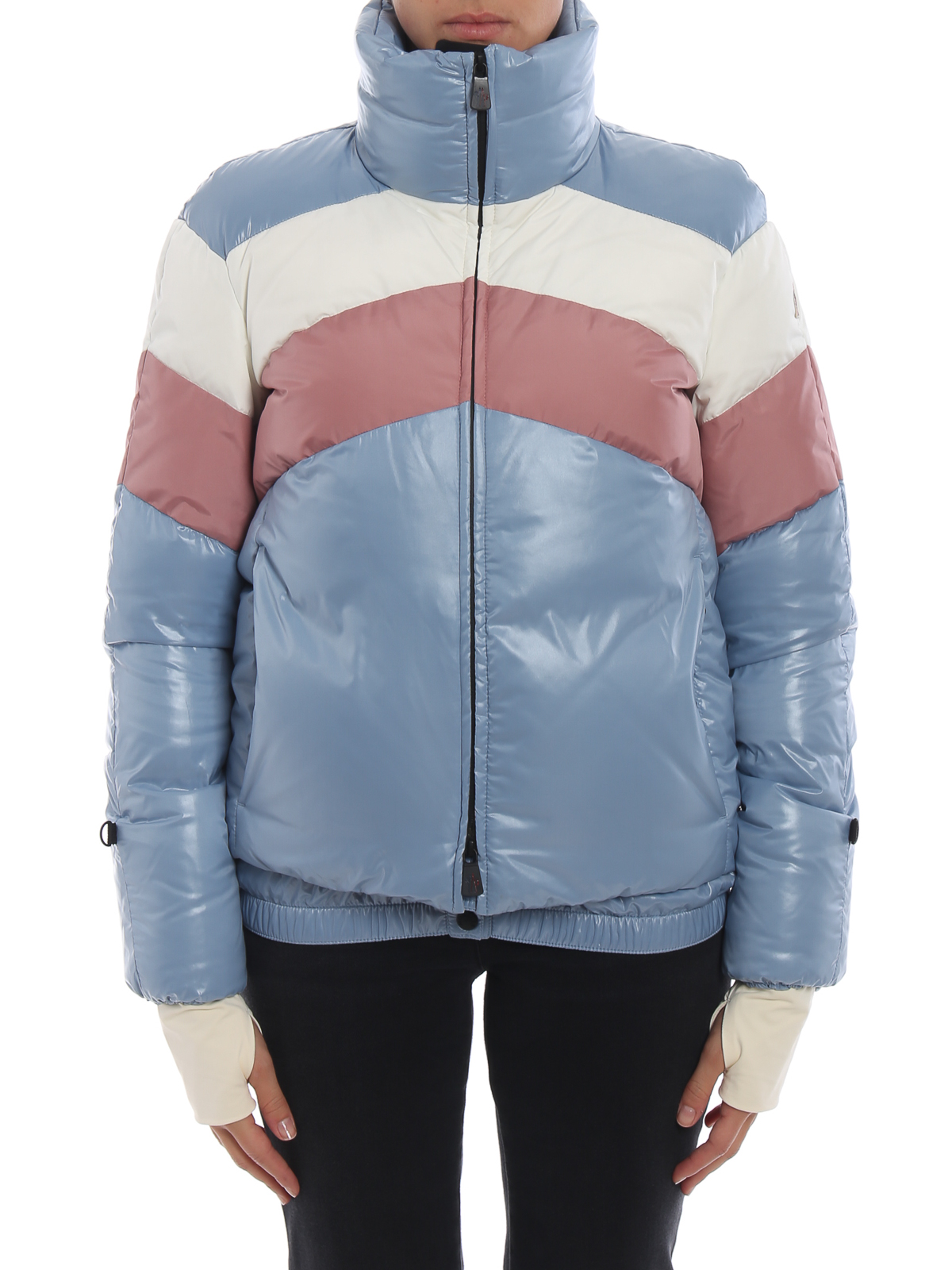 c75b64a45 Moncler Grenoble - Lamar chevron pattern puffer jacket - padded ...
