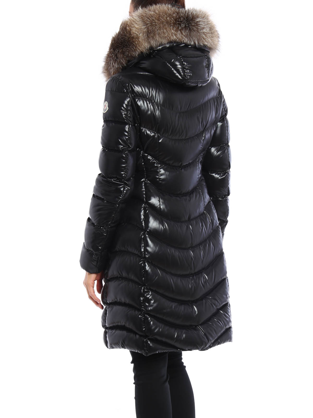 bf5150ee9 Moncler - Aphia fur trimmed hooded down coat - padded coats - B2 093 ...