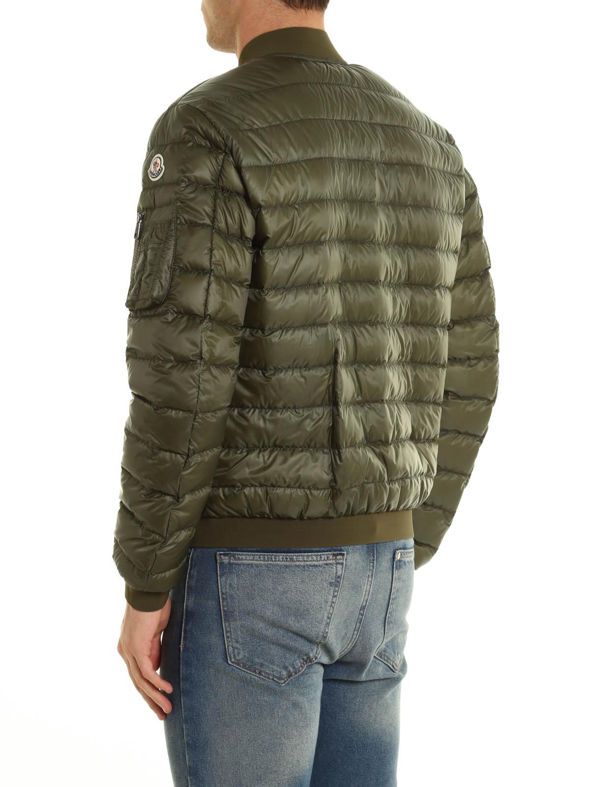 a8b875eab Moncler - Aidan lightweight bomber jacket - padded jackets - C1 091 ...