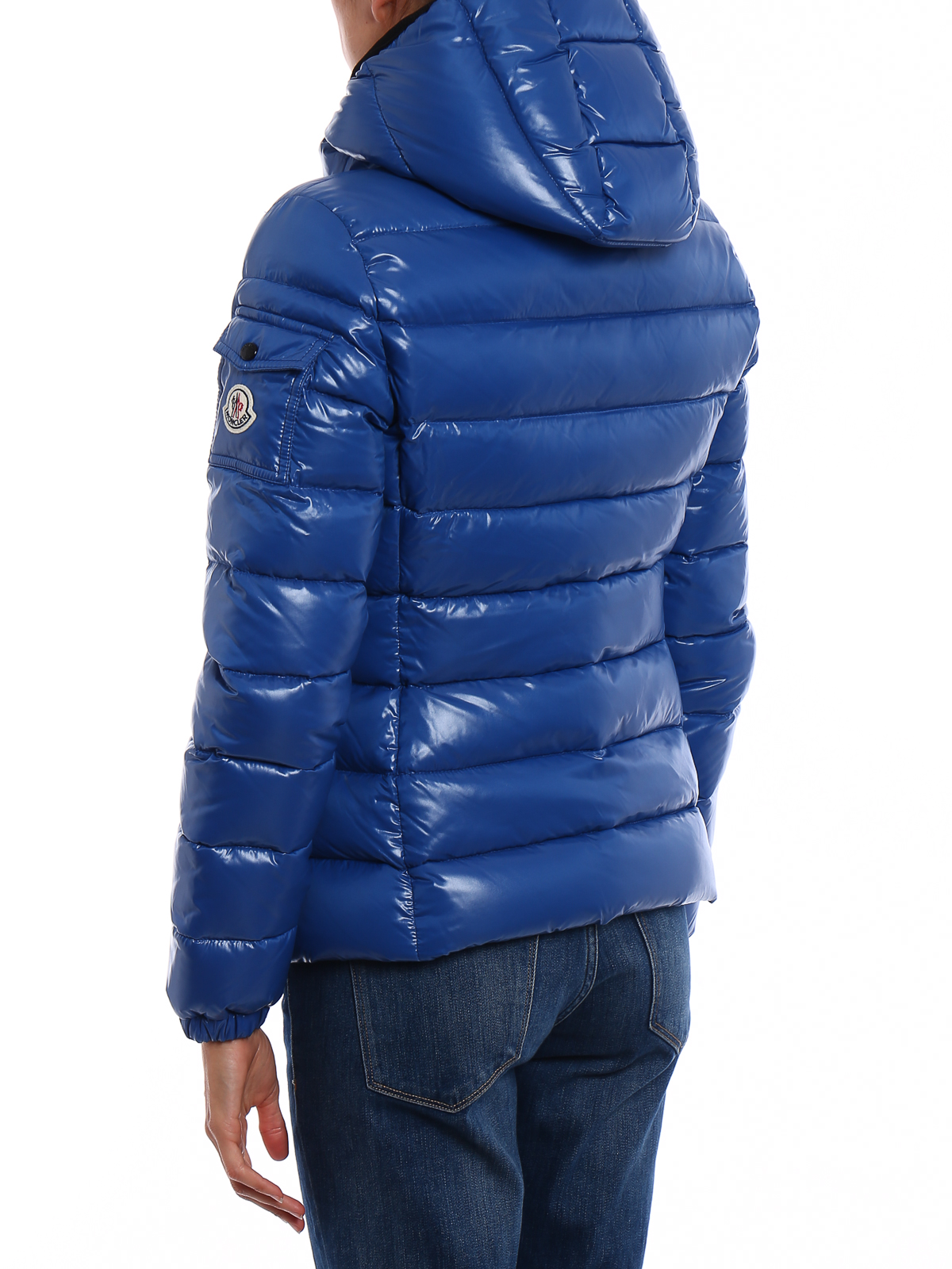 Moncler Bady Lacquered Nylon Padded Jacket Padded