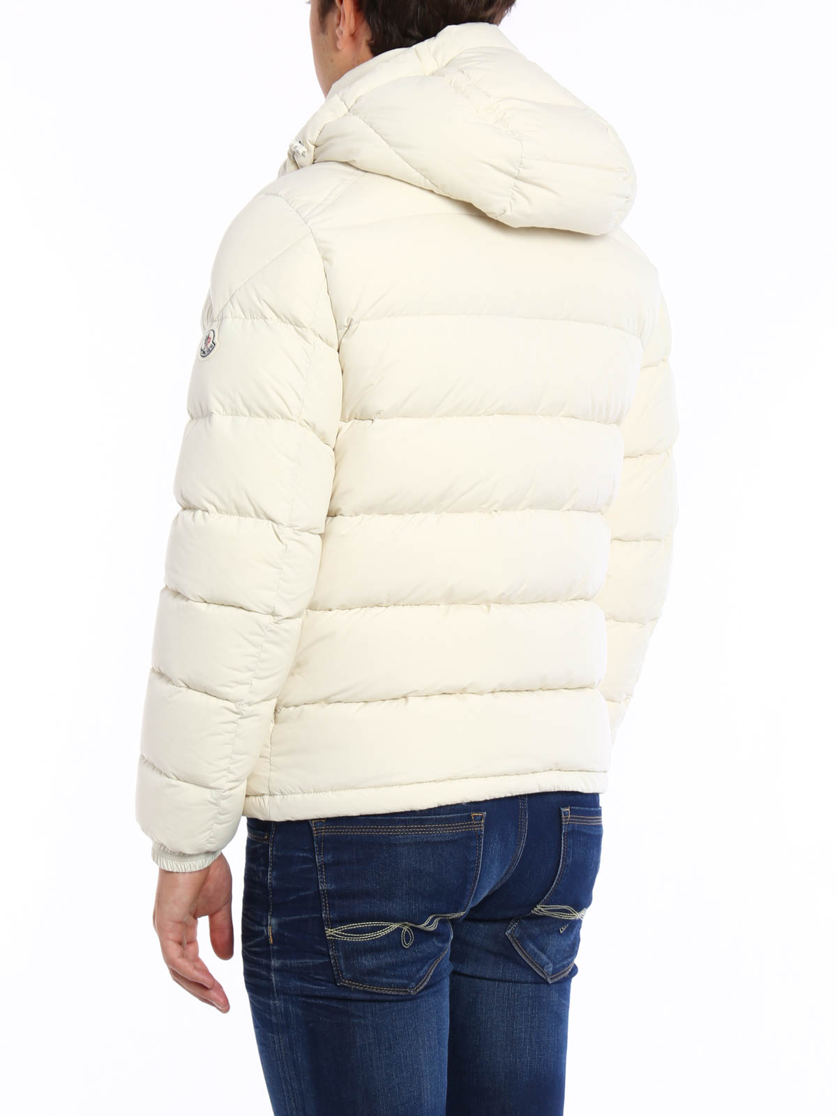 iKRIX MONCLER: padded jackets - Brique quilted padded jacket