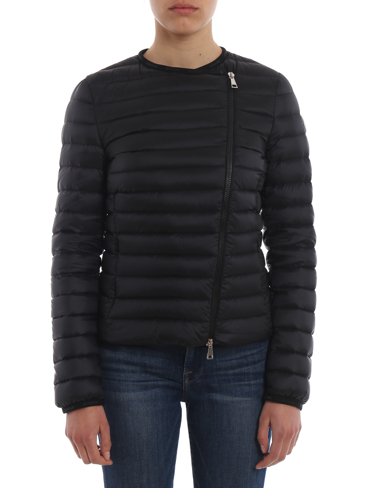 4342f1a3e Moncler - Londres collarless black puffer jacket - padded jackets ...