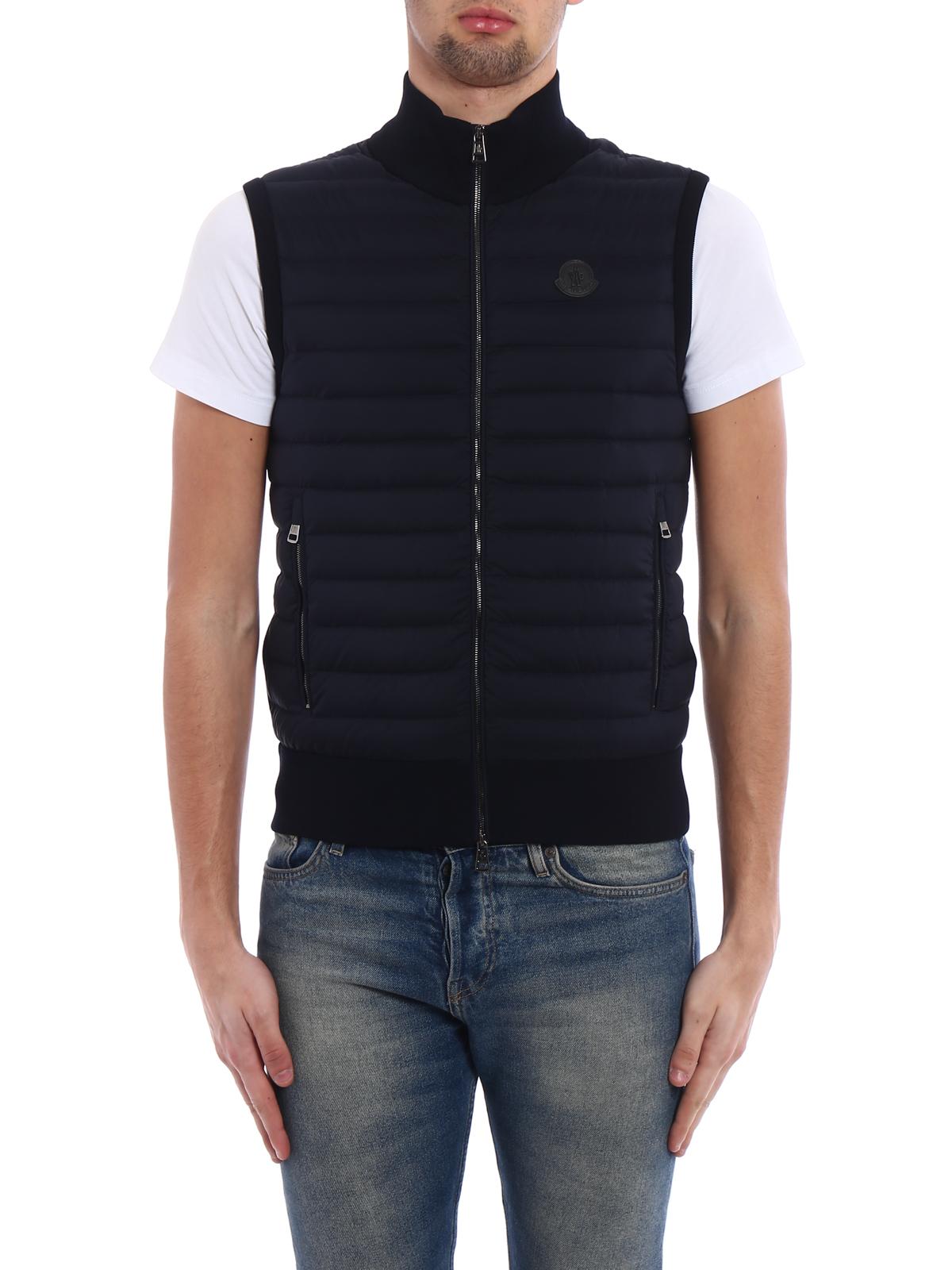 moncler padded front jacket