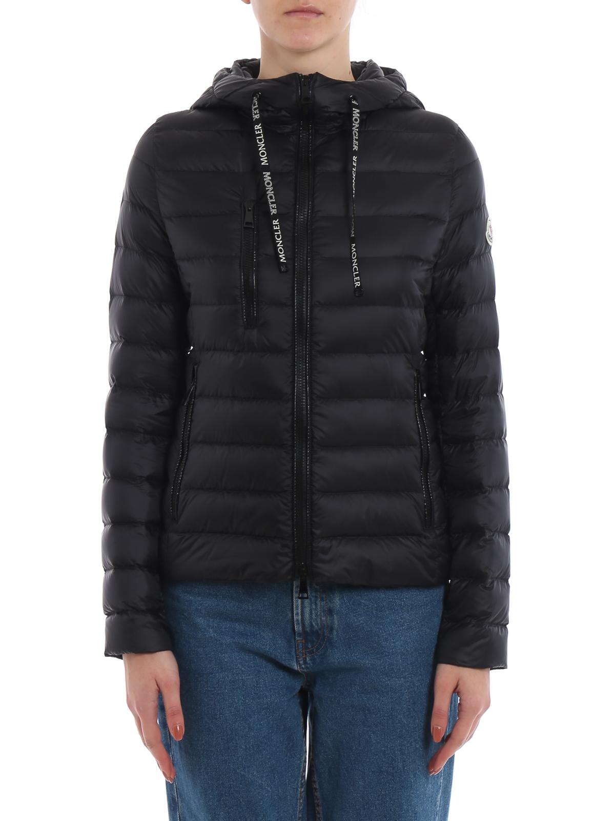 3458ce1aa Moncler - Seoul black hooded puffer jacket - padded jackets - E1 093 ...