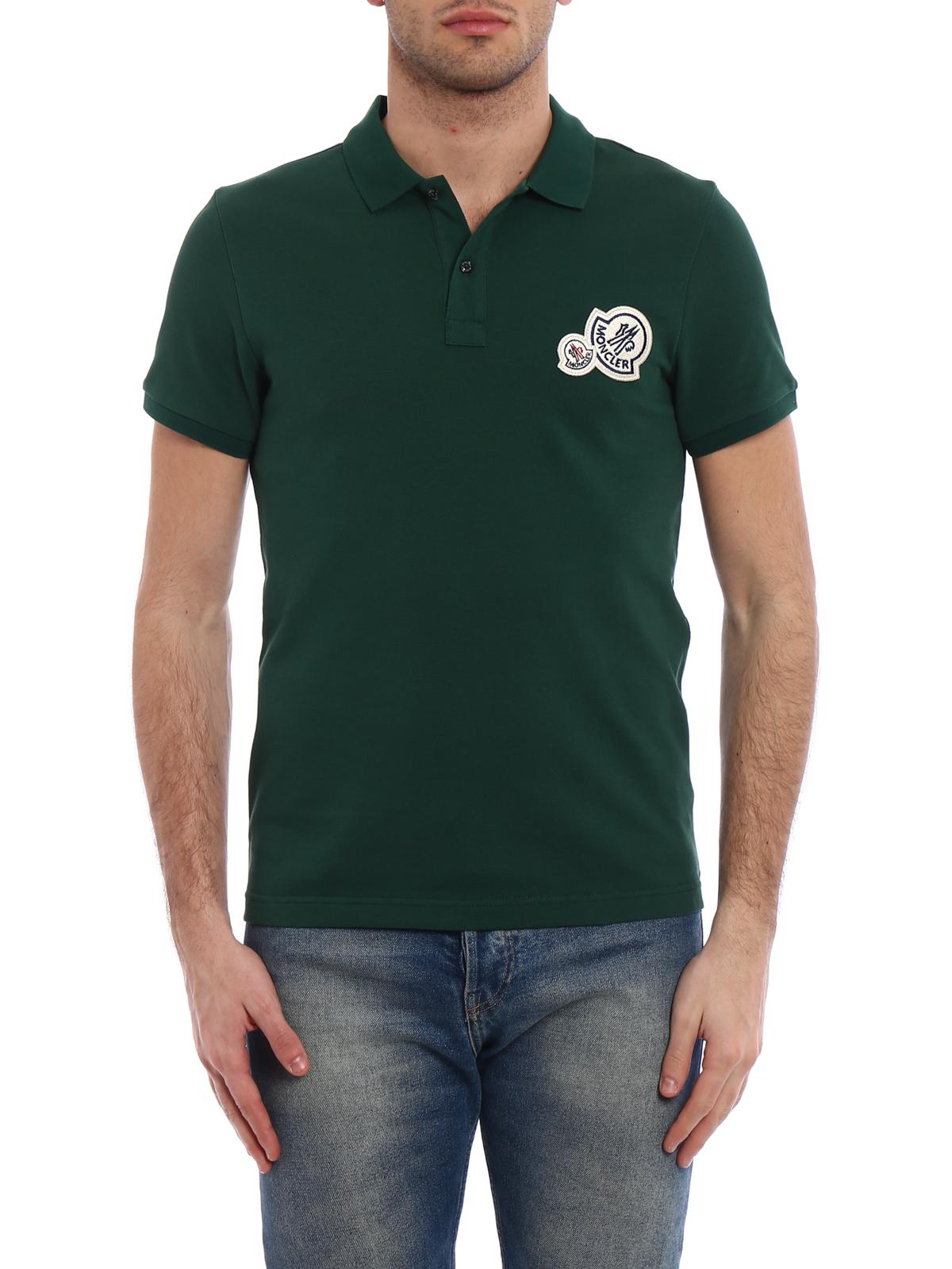 moncler green t shirt