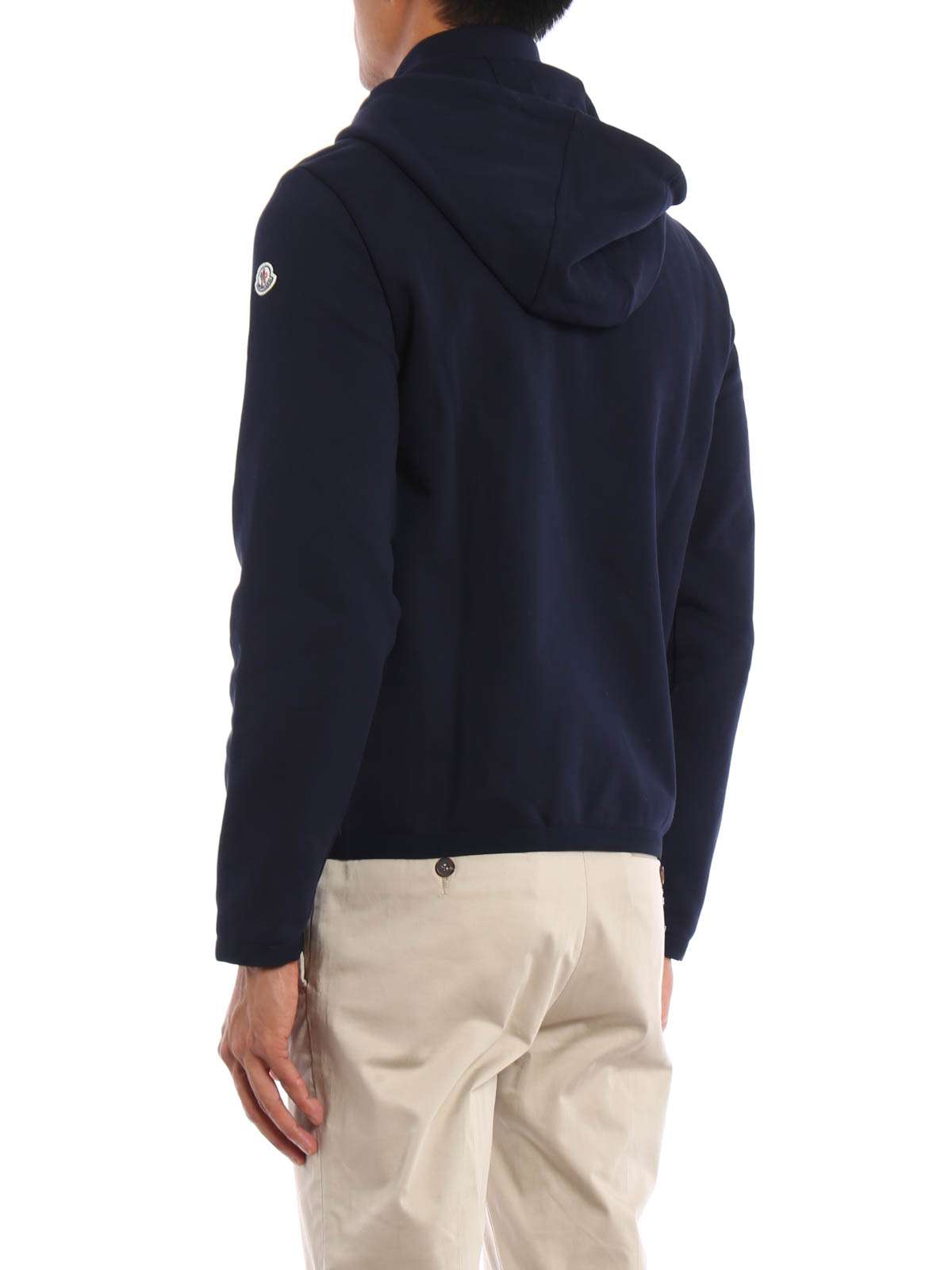 e339572ba Moncler - Padded front cotton hoodie - Sweatshirts   Sweaters - B2 ...