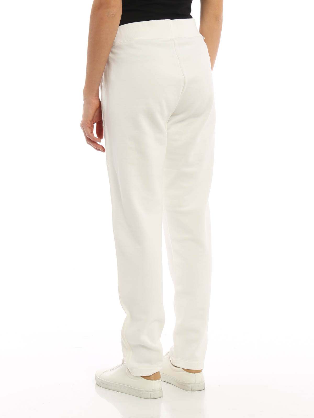 elige mejor valor fabuloso Reino Unido Moncler - Pantalón Chándal Blanco Para Mujer - Pantalones ...