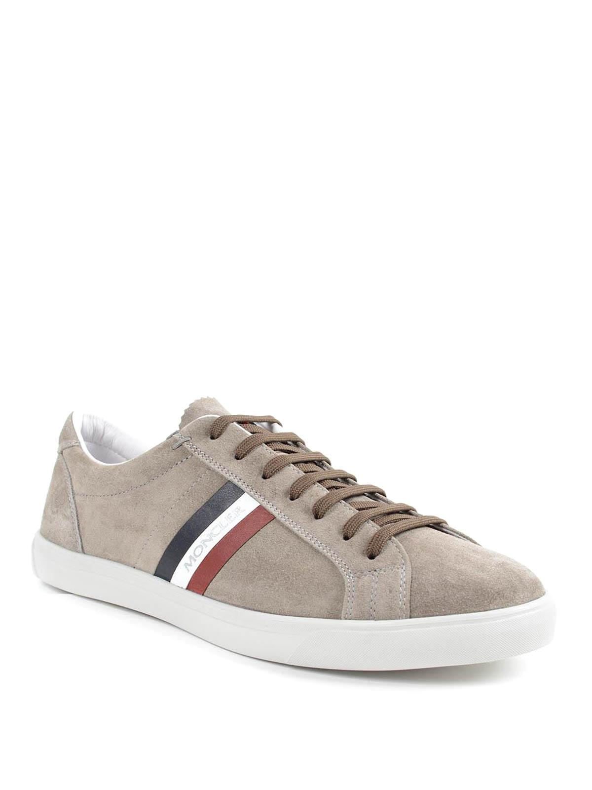 Moncler - La Monaco suede sneakers