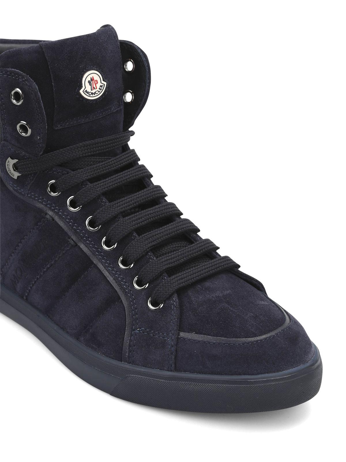 sneaker fur herren dunkelblau von moncler sneaker ikrix. Black Bedroom Furniture Sets. Home Design Ideas