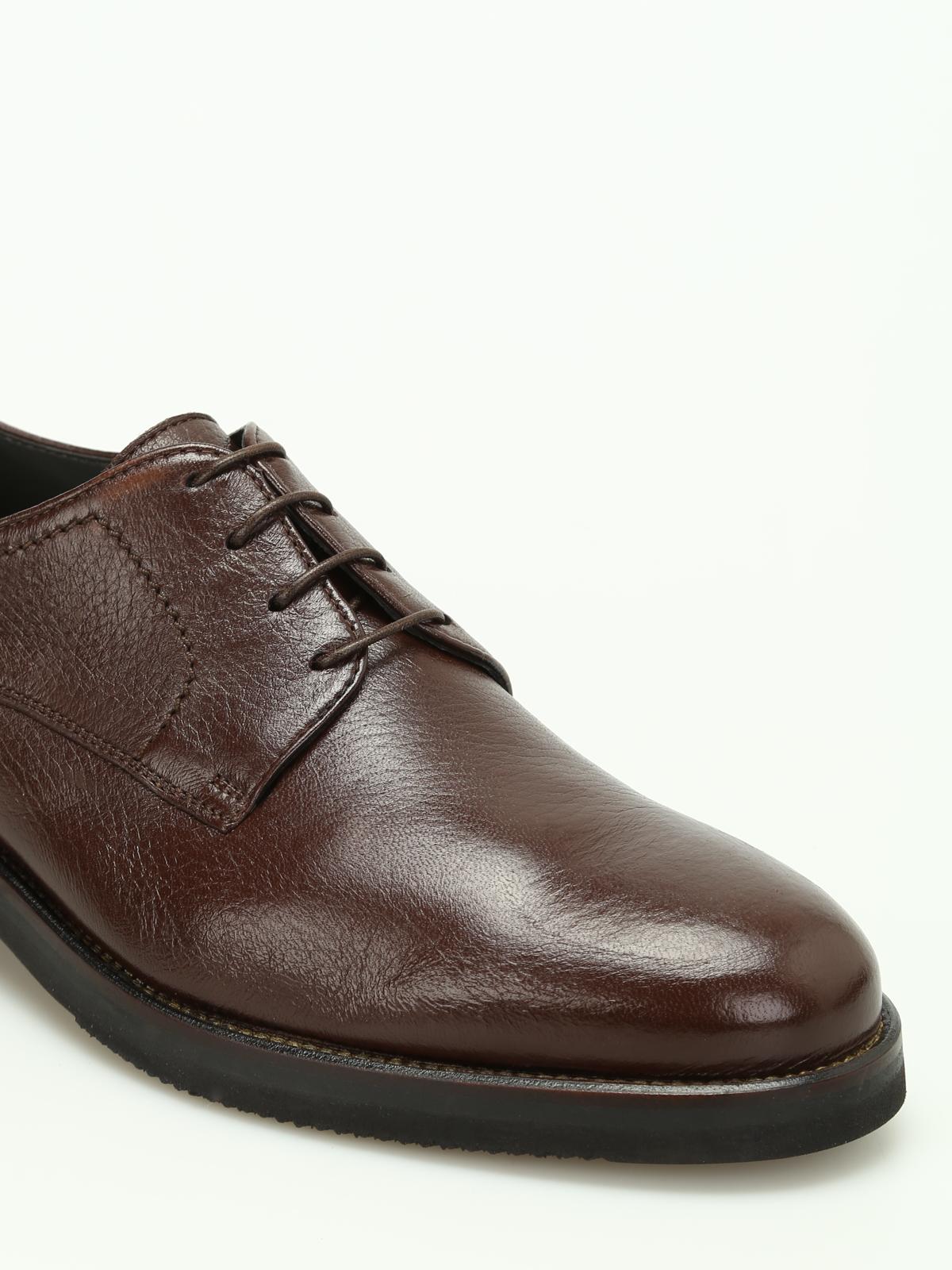 separation shoes 11770 918da Moreschi - Stringate Derby in pelle di cervo - scarpe ...