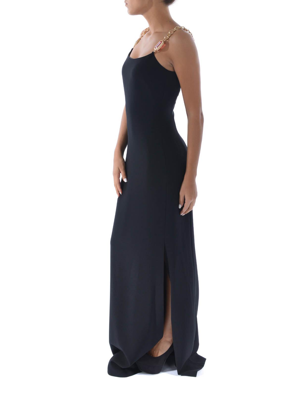 03739a56c5f6c iKRIX Moschino Boutique  abiti da sera - Abito lungo con spalline gioiello