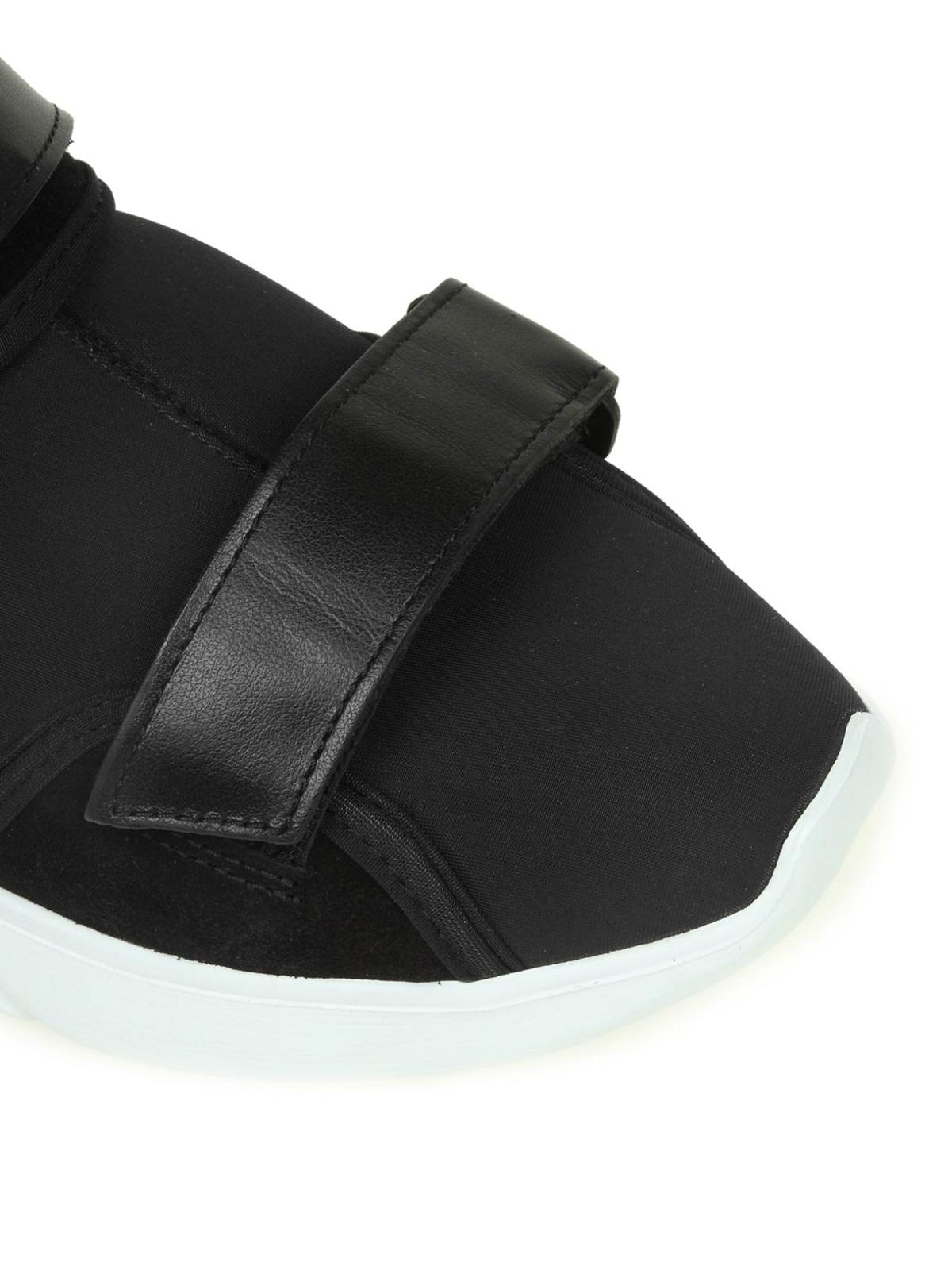 Moschino - Neoprene sock sneakers with