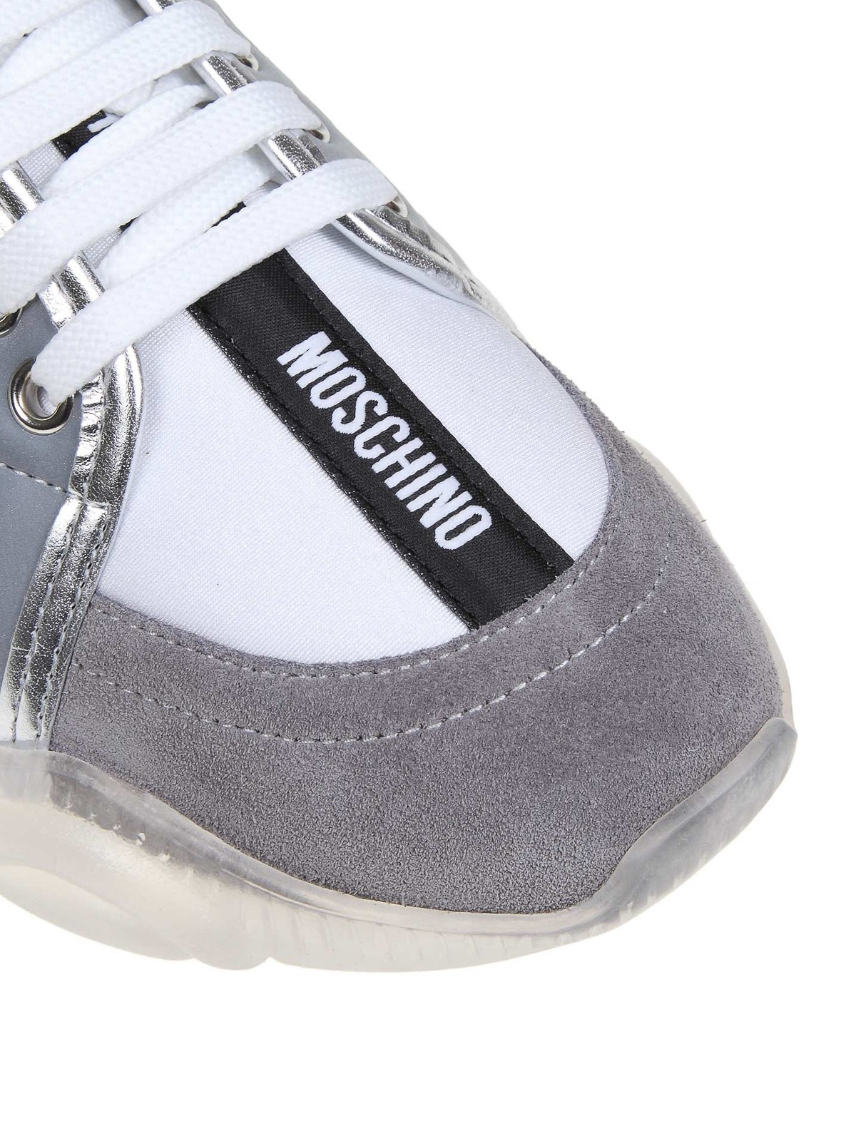 Teddy Run white and grey sneakers