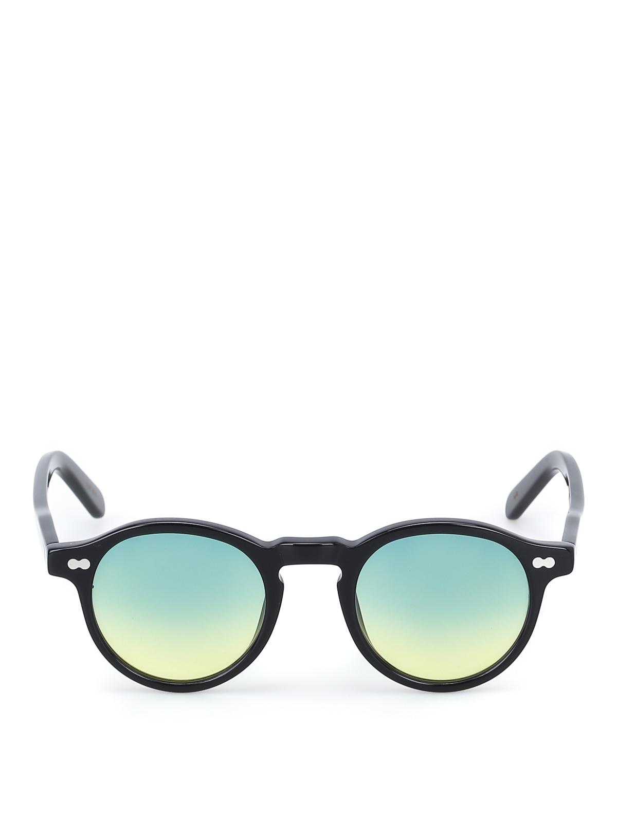 Occhiali da sole neri miltzen moscot occhiali da sole for Occhiali neri da sole