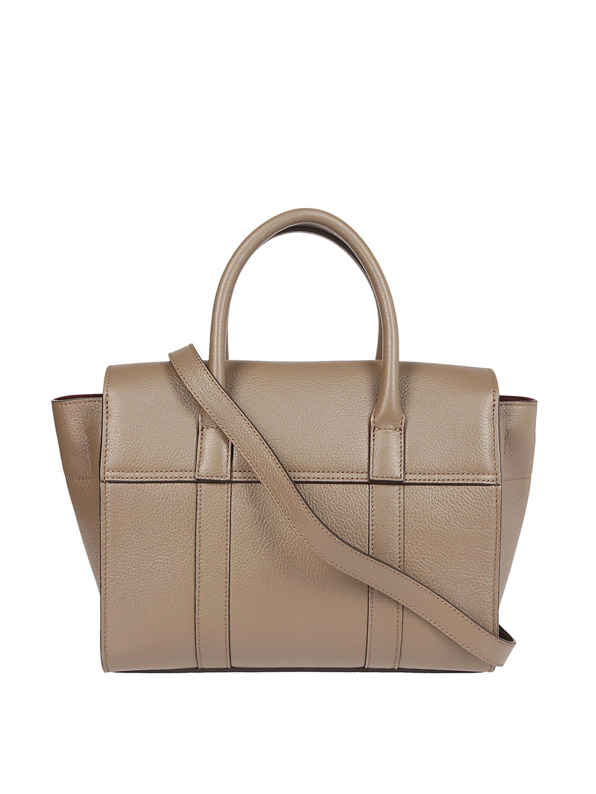 Mulberry - Small Bayswater Clay Grain Leather Bag -5457