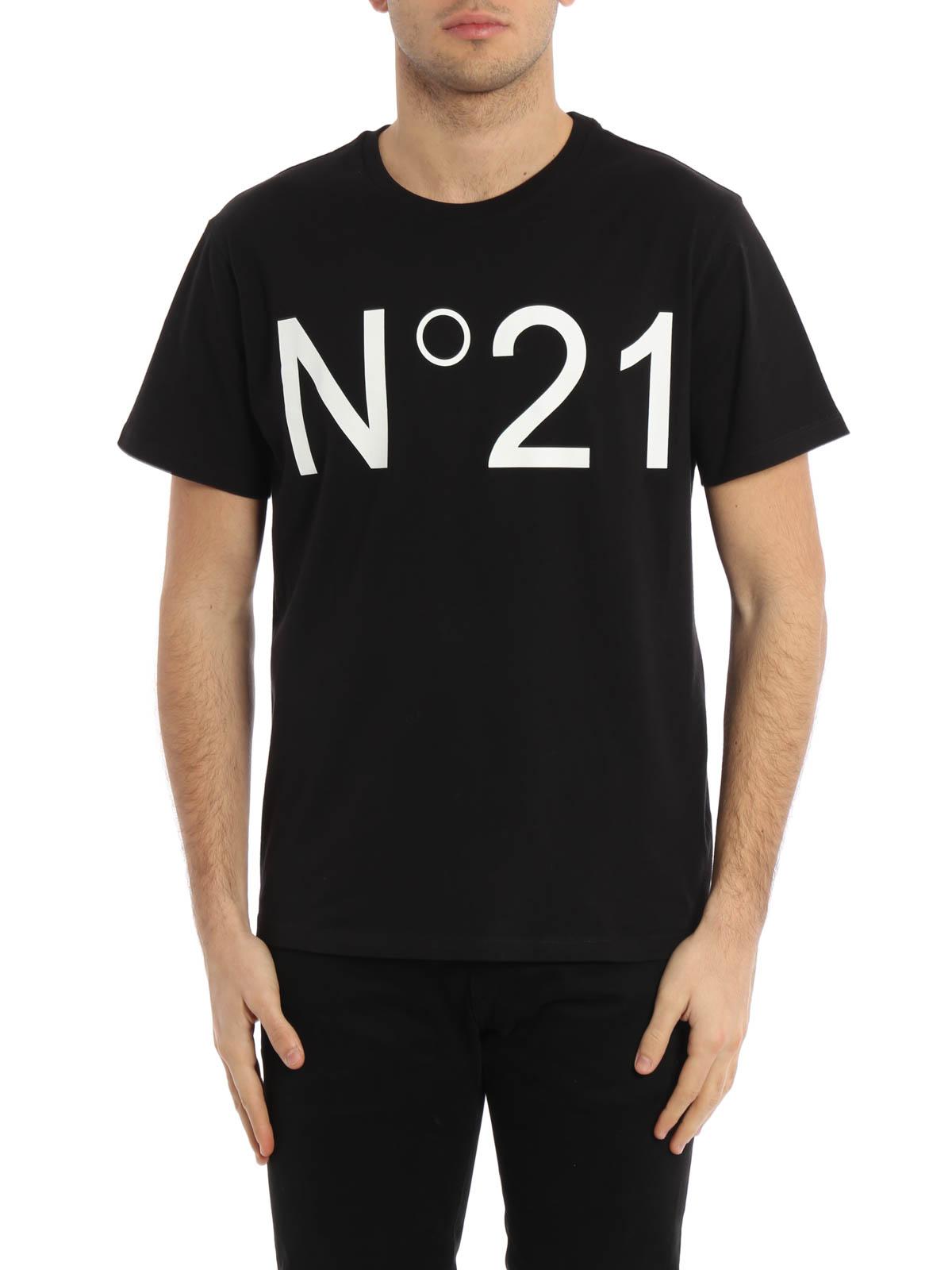 N 21 T Shirt Fur Herren Schwarz T Shirts F02163659000