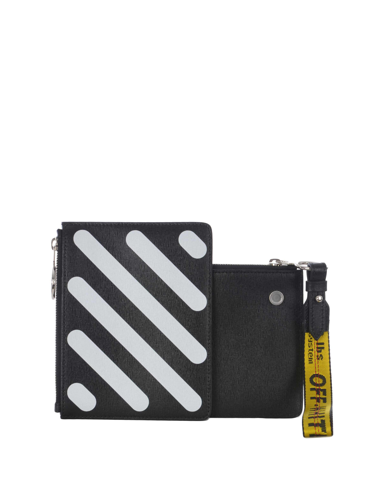 79ed03251ca Off-White - Diag black double clutch - clutches - OWNA048S184231681001