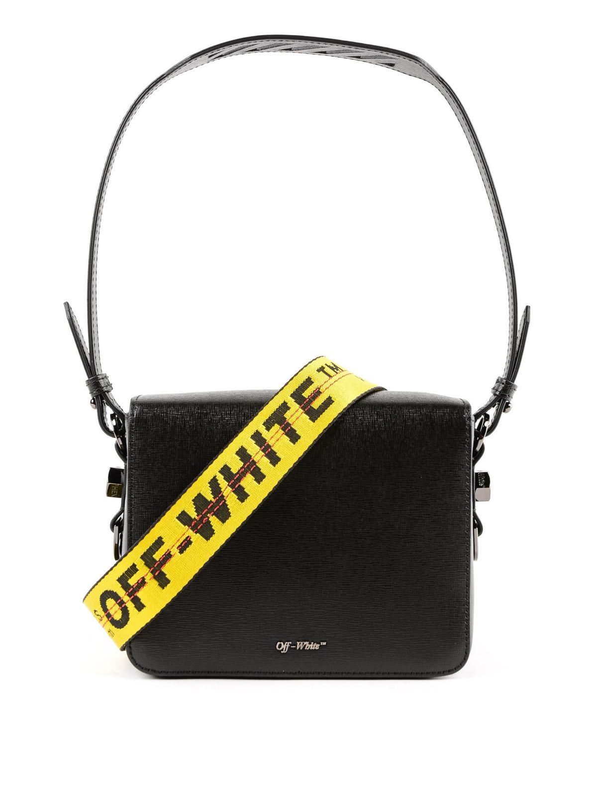 2e647df5de83 iKRIX OFF-WHITE  shoulder bags - Diag leather squared shoulder bag