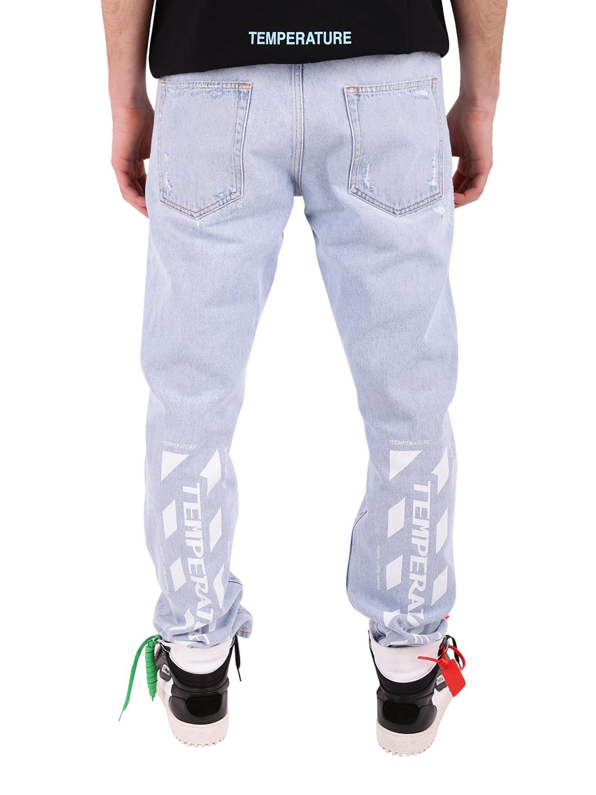 ac70aabfc673 iKRIX OFF-WHITE  straight leg jeans - Temperature jeans