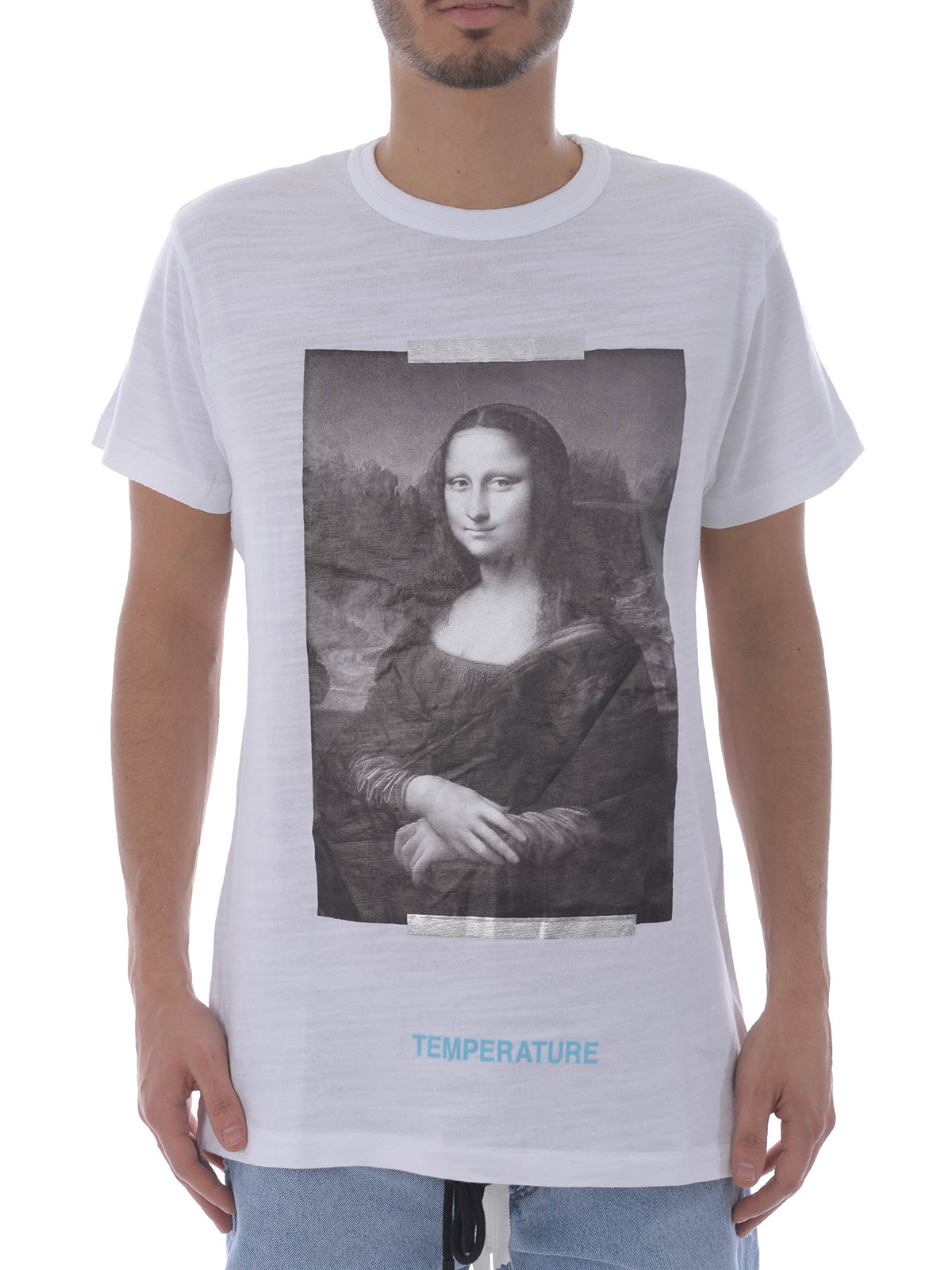 Off-White - Monalisa white T-shirt - t-shirts - OMAA002S180010120110 569675a98664