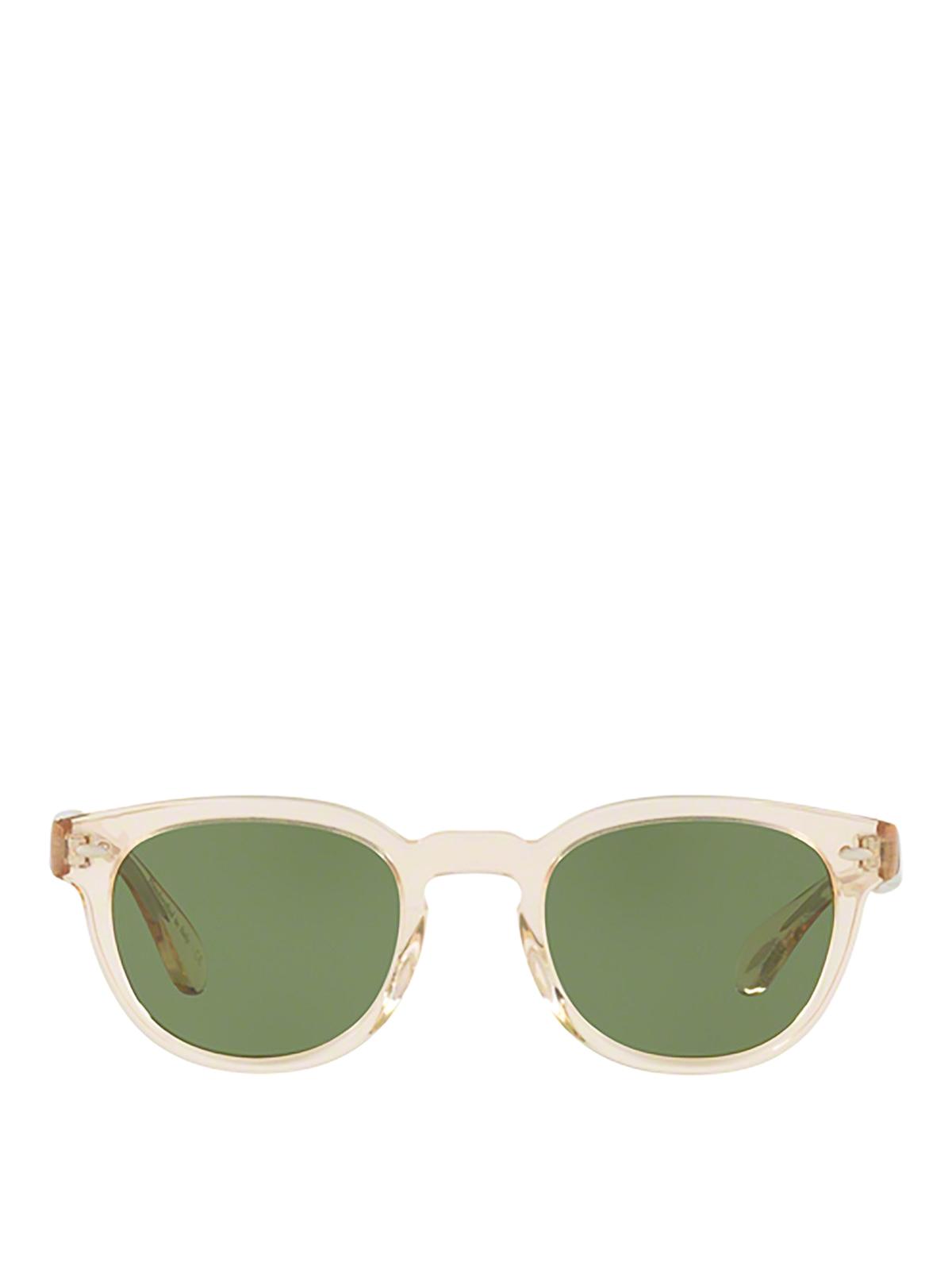 Oliver Peoples Sonnenbrille Hellbraun Sonnenbrillen