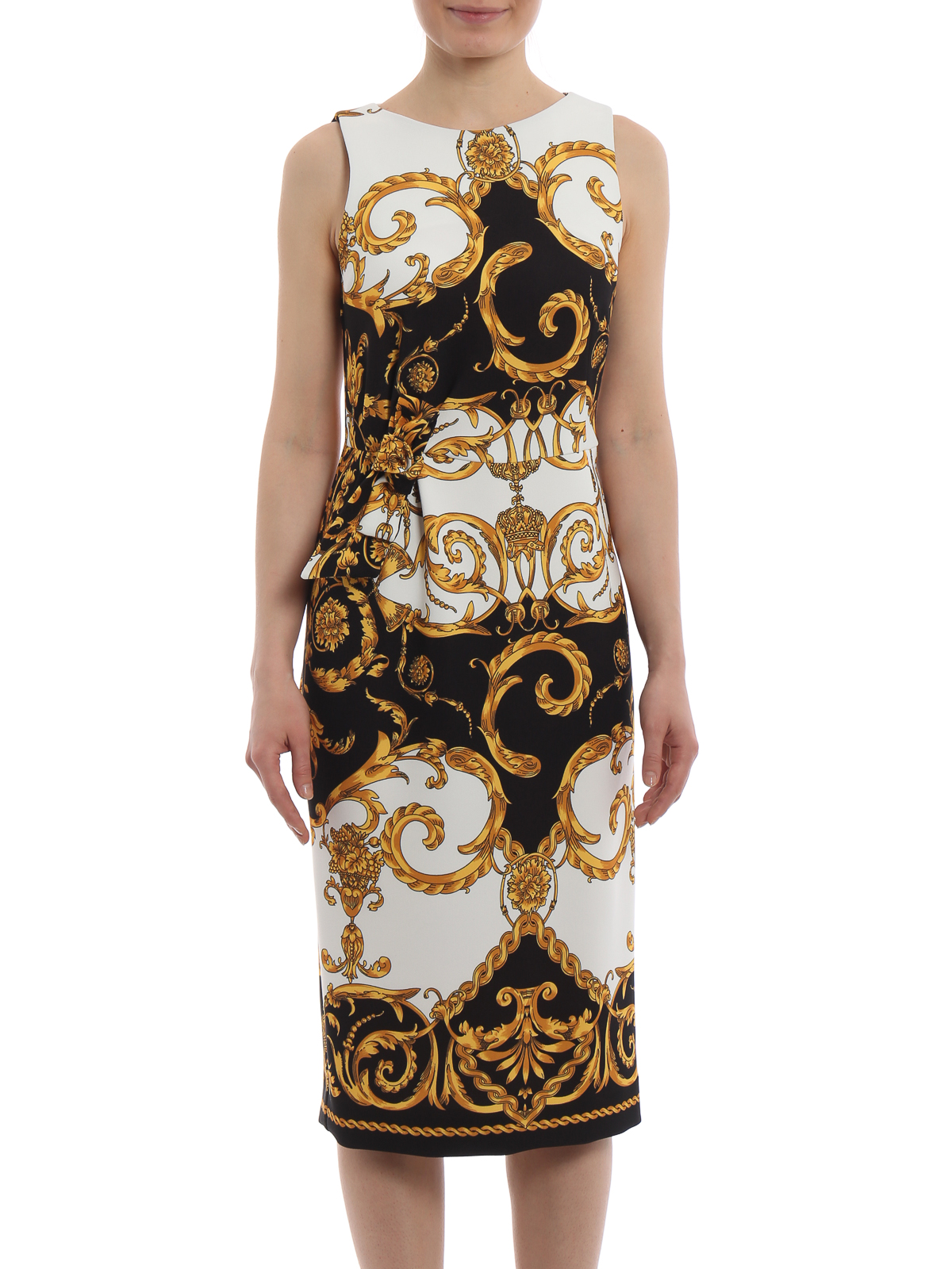 Fashion Baroque Pencil Dress