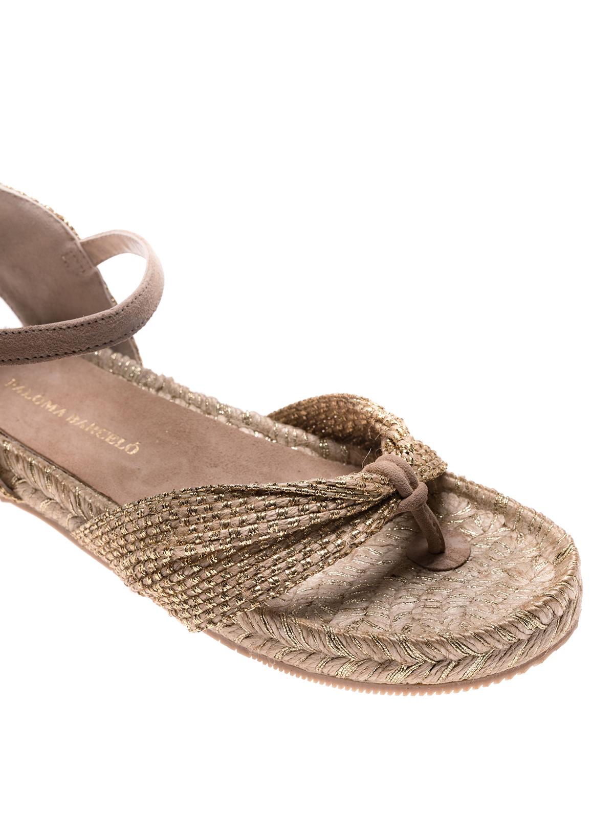 Clinopodio Or Sandales Flip Flop Paloma Barcel iTaGy
