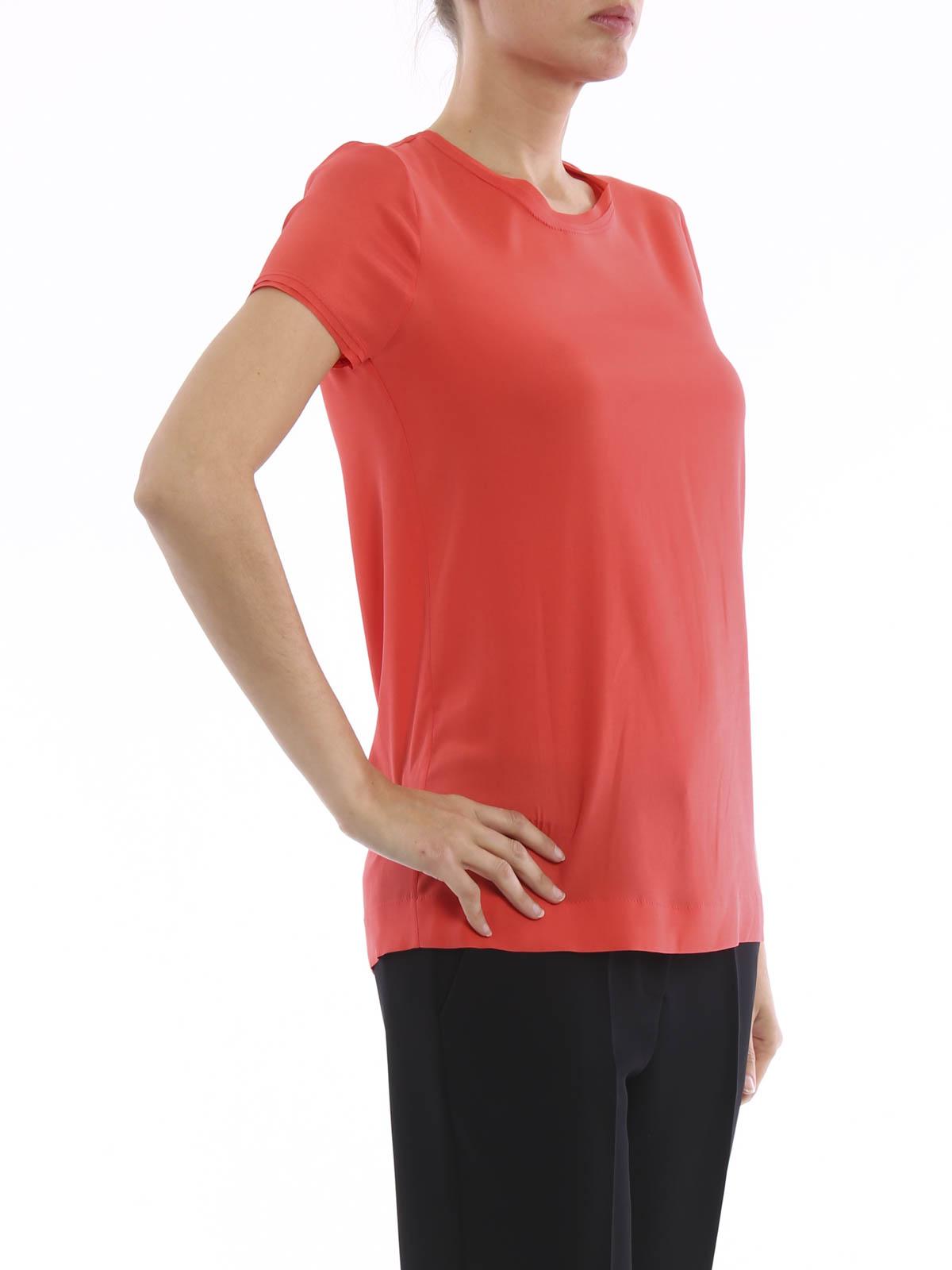 Silk T Shirt By Paolo Fiorillo Capri T Shirts Shop