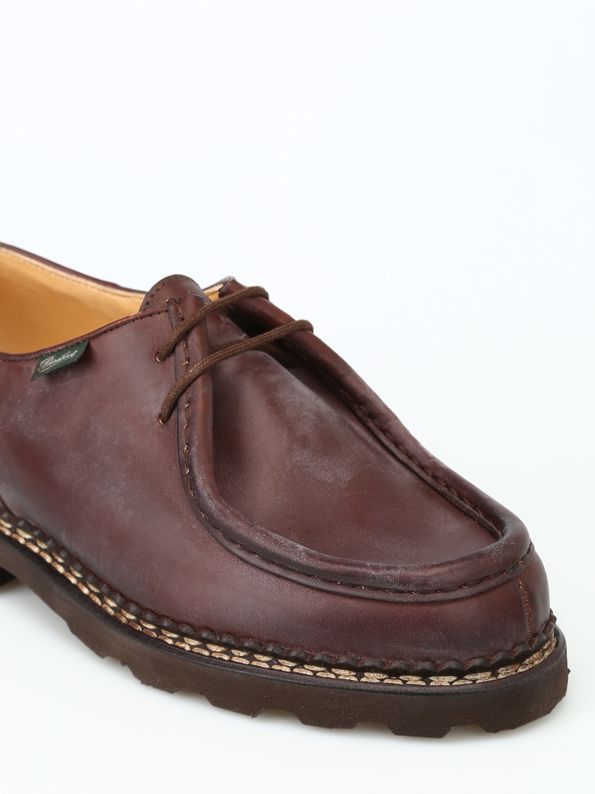 quality design 1f5cb e62c6 Paraboot - Allacciate Michael in pelle - scarpe stringate ...