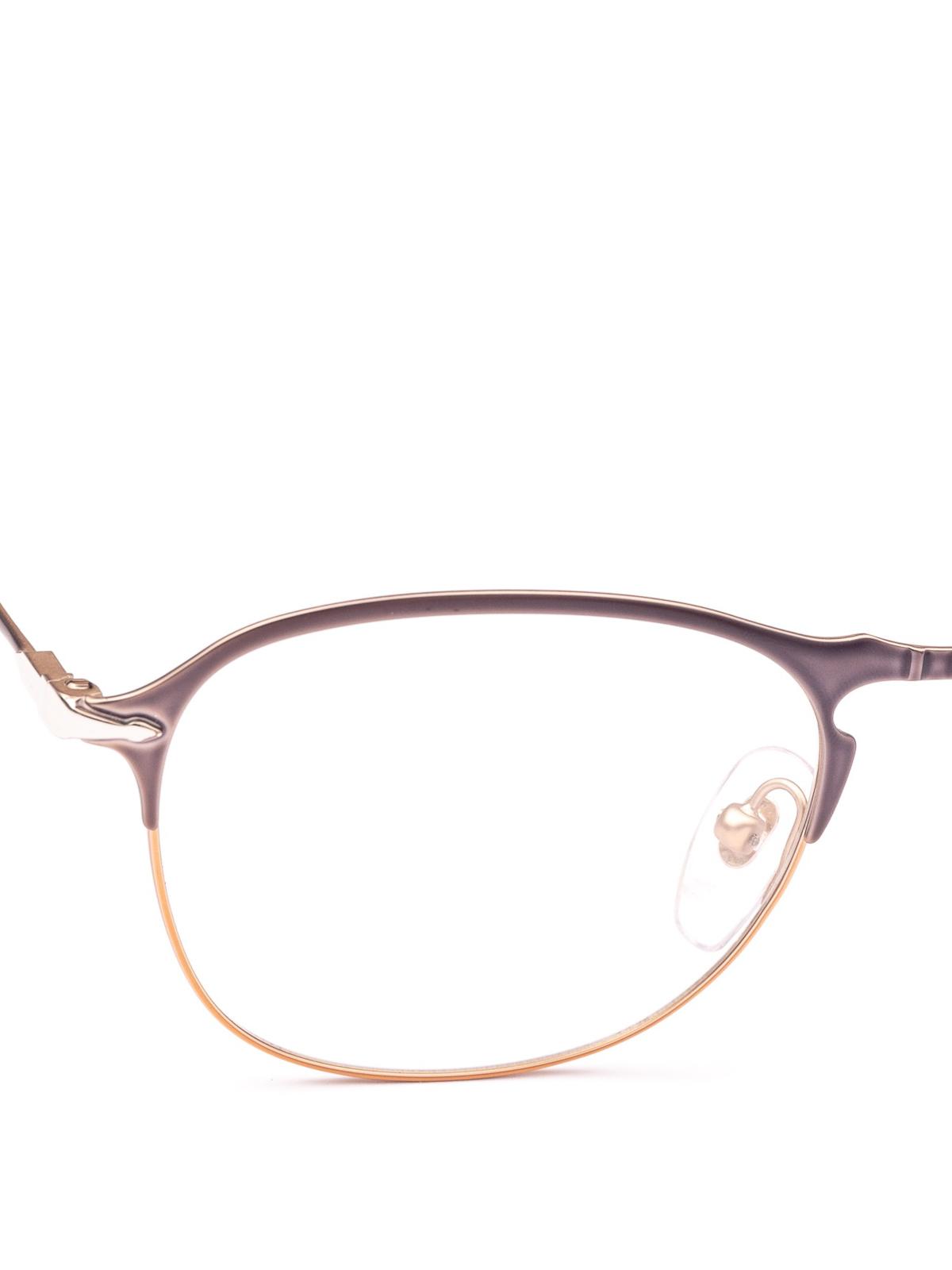 15f9a0c1ae ... Persol 649 Series grey metal eyeglasses glasses PO 7007V 1071 iKRIX ...