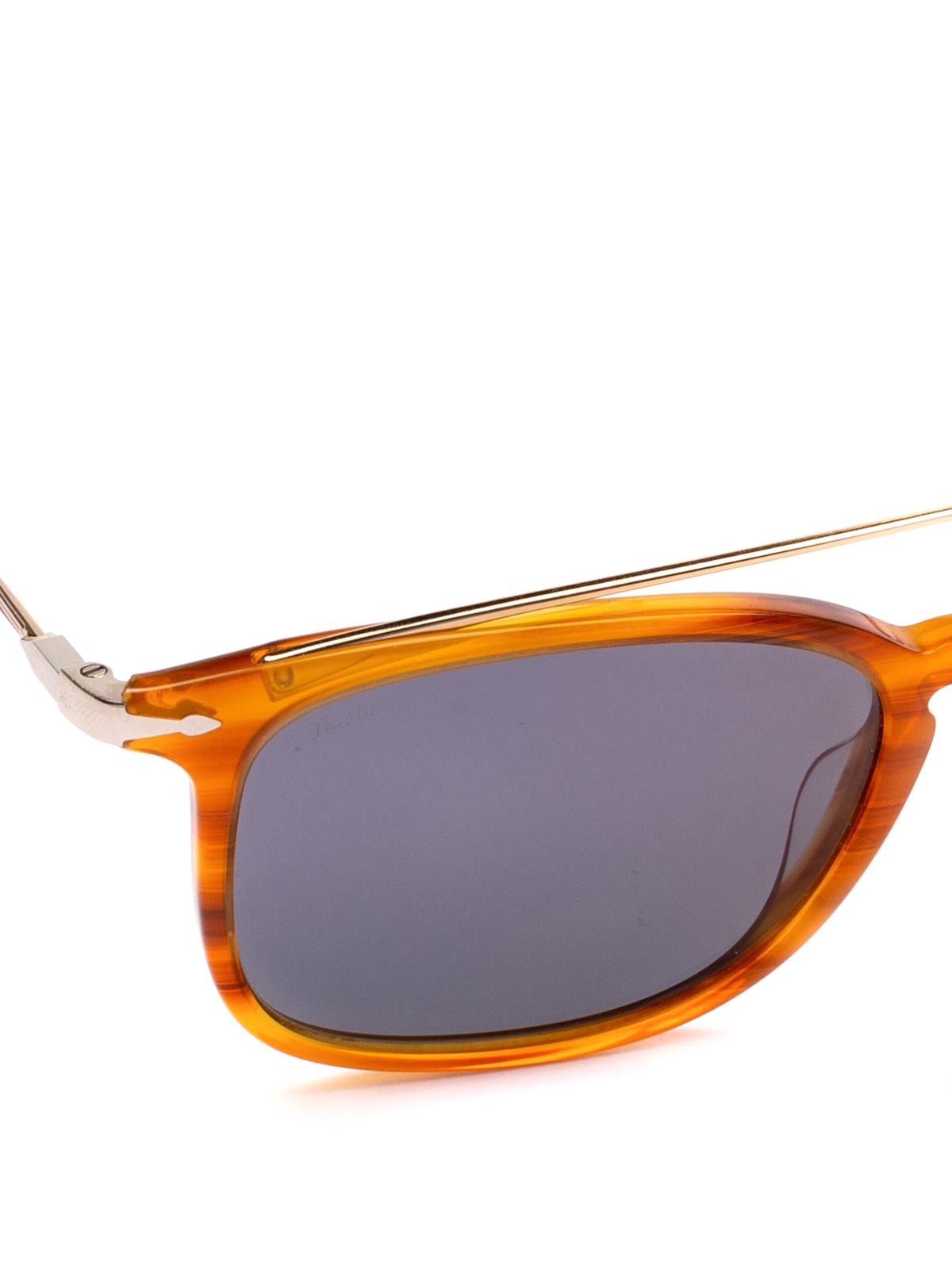 a36df5984a iKRIX PERSOL  sunglasses - Metal double bridge tortoise squared glasses