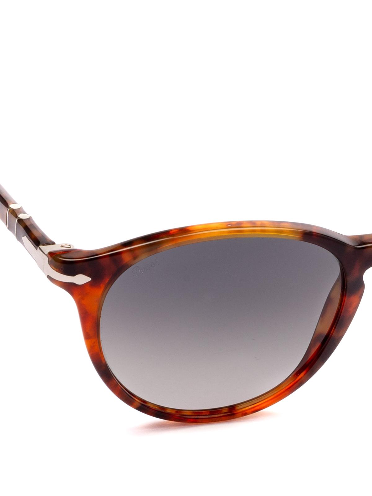 9fe6797b01 iKRIX PERSOL  sunglasses - Tortoise frame oval dark lens sunglasses