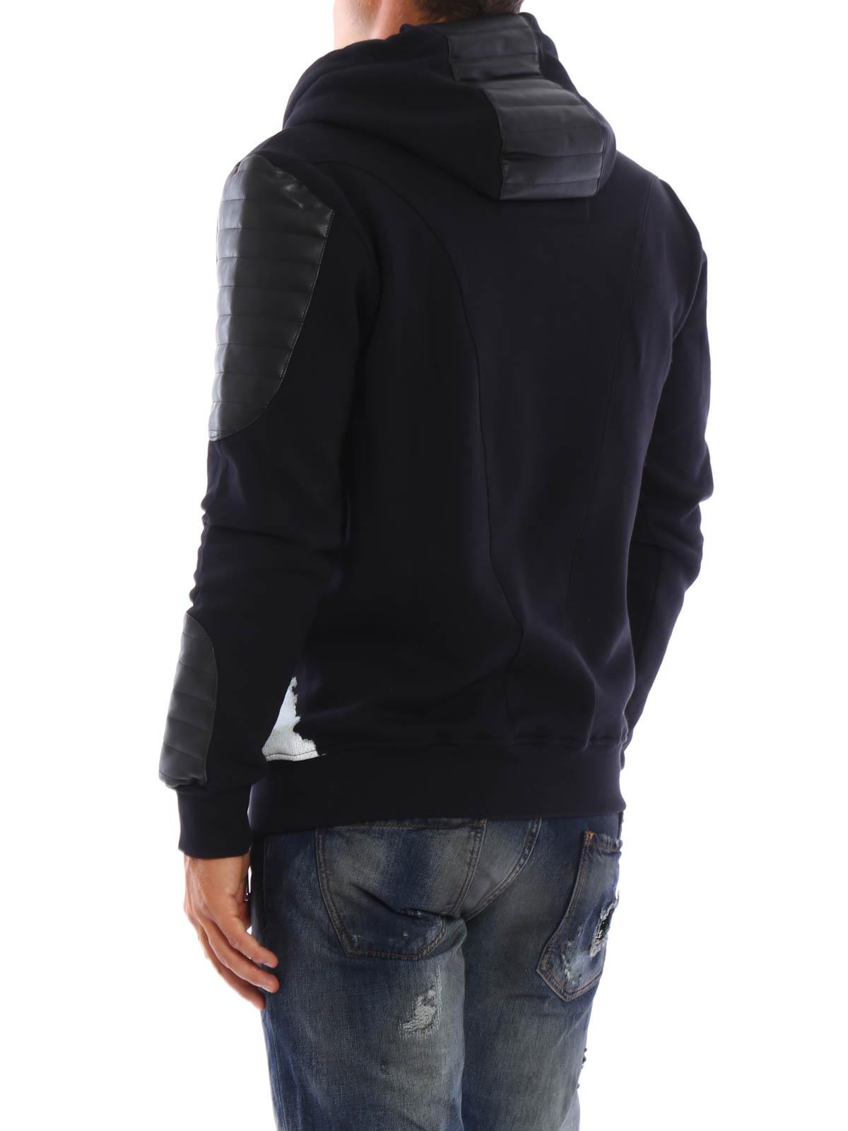 sweatshirt und pullover dundee von philipp plein. Black Bedroom Furniture Sets. Home Design Ideas
